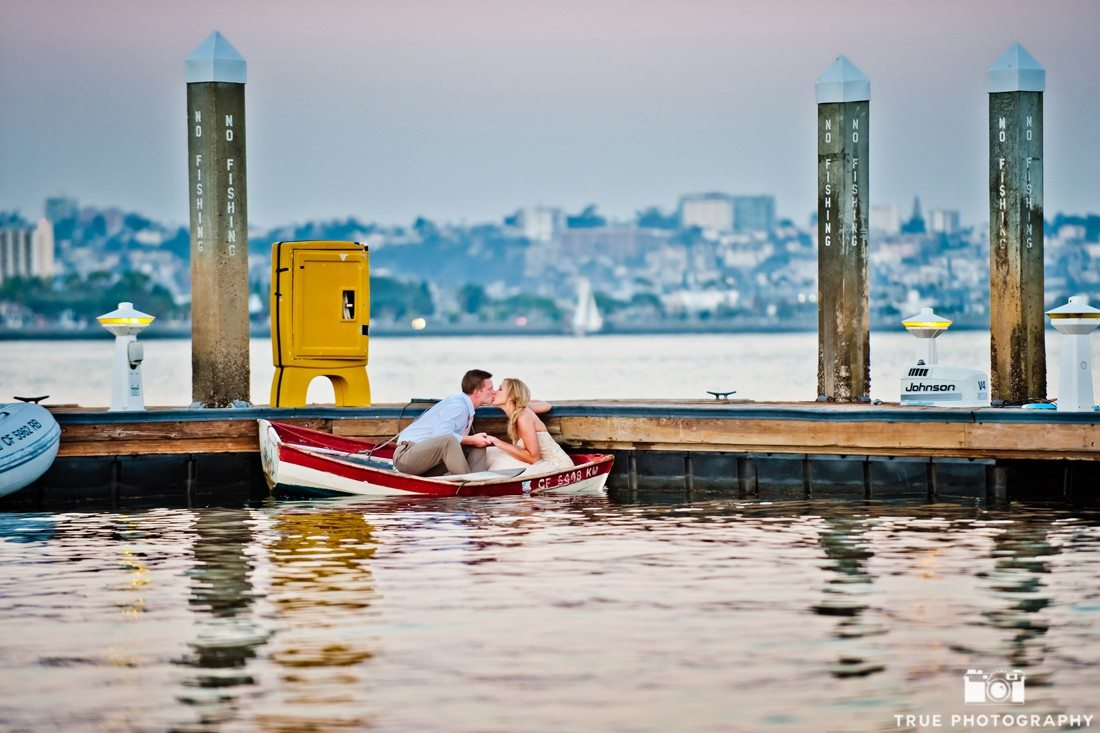 Couple in Boat