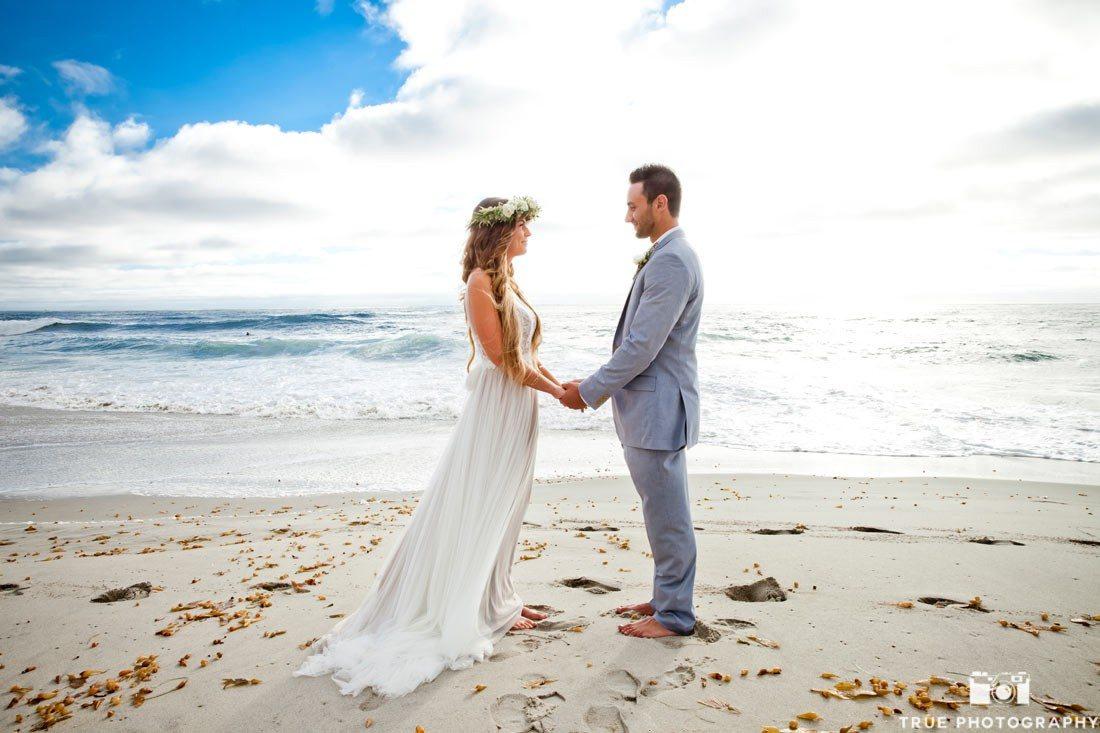 Windansea Beach Wedding Coastal La Jolla Ceremony