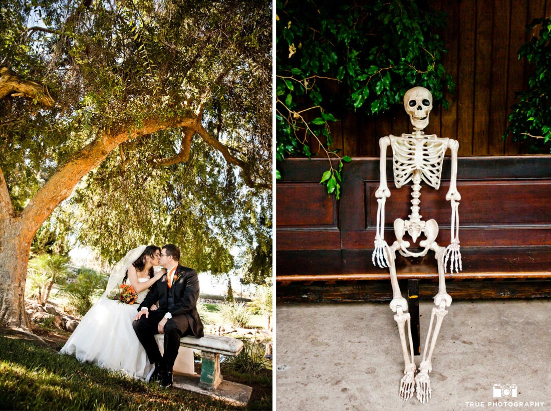 Skeleton Wedding