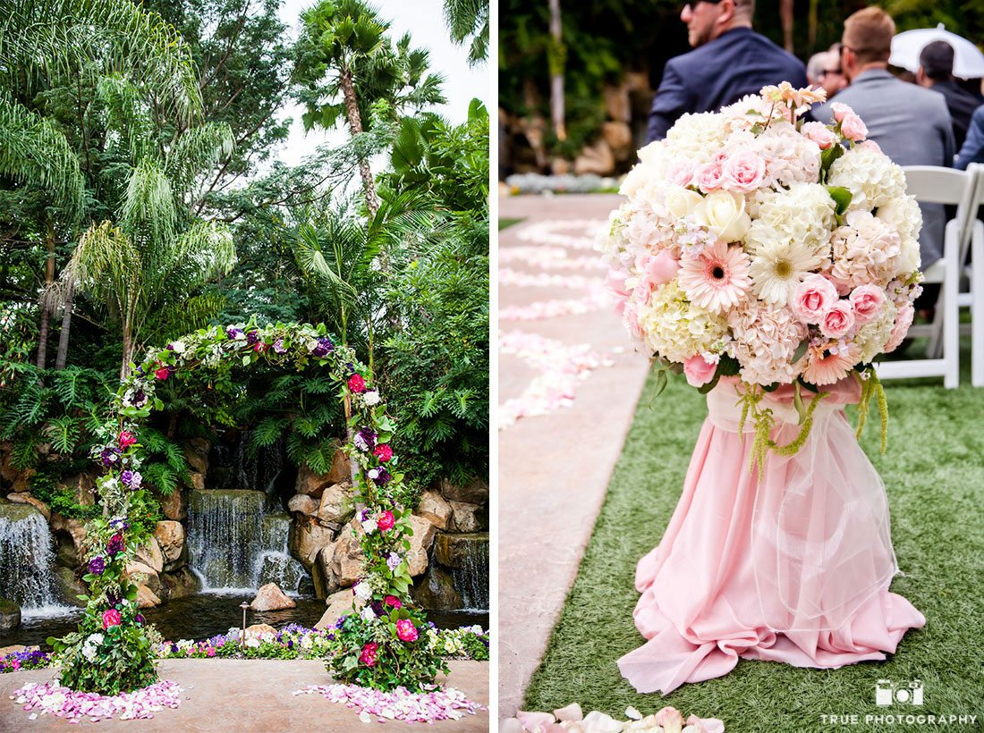 Lovely Ceremony Wedding Details at Grand Tradition