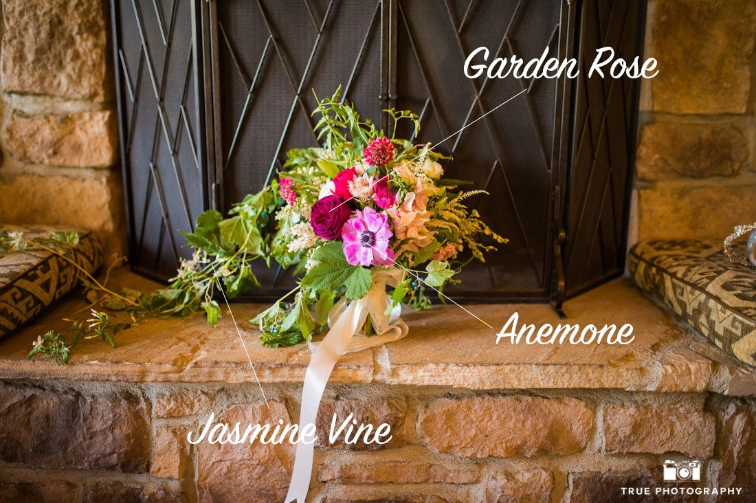 Rustic inspired bouquet using wild flower