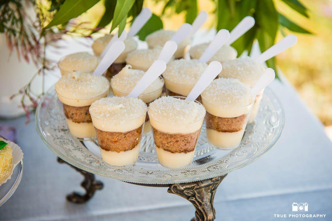 Wedding dessert table treats