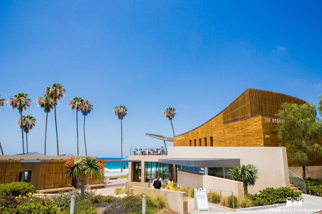 Scripps Seaside Forum wedding venue