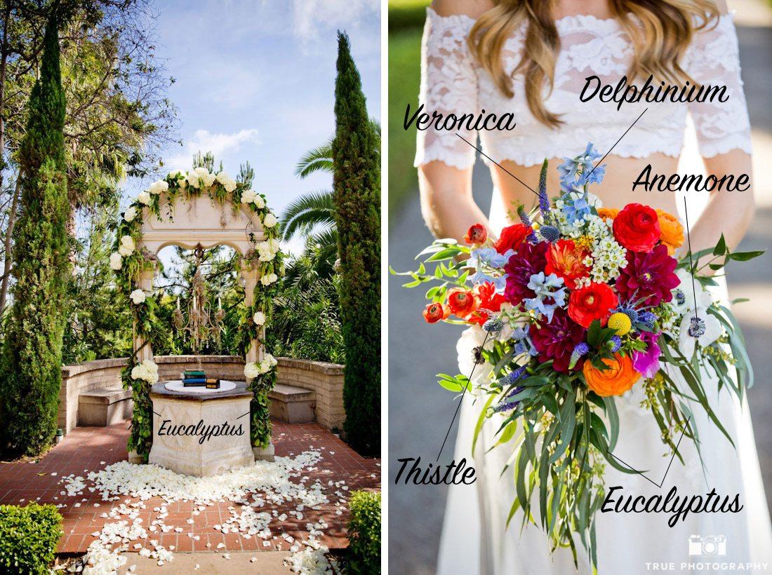 Ways to Use Eucalyptus at wedding