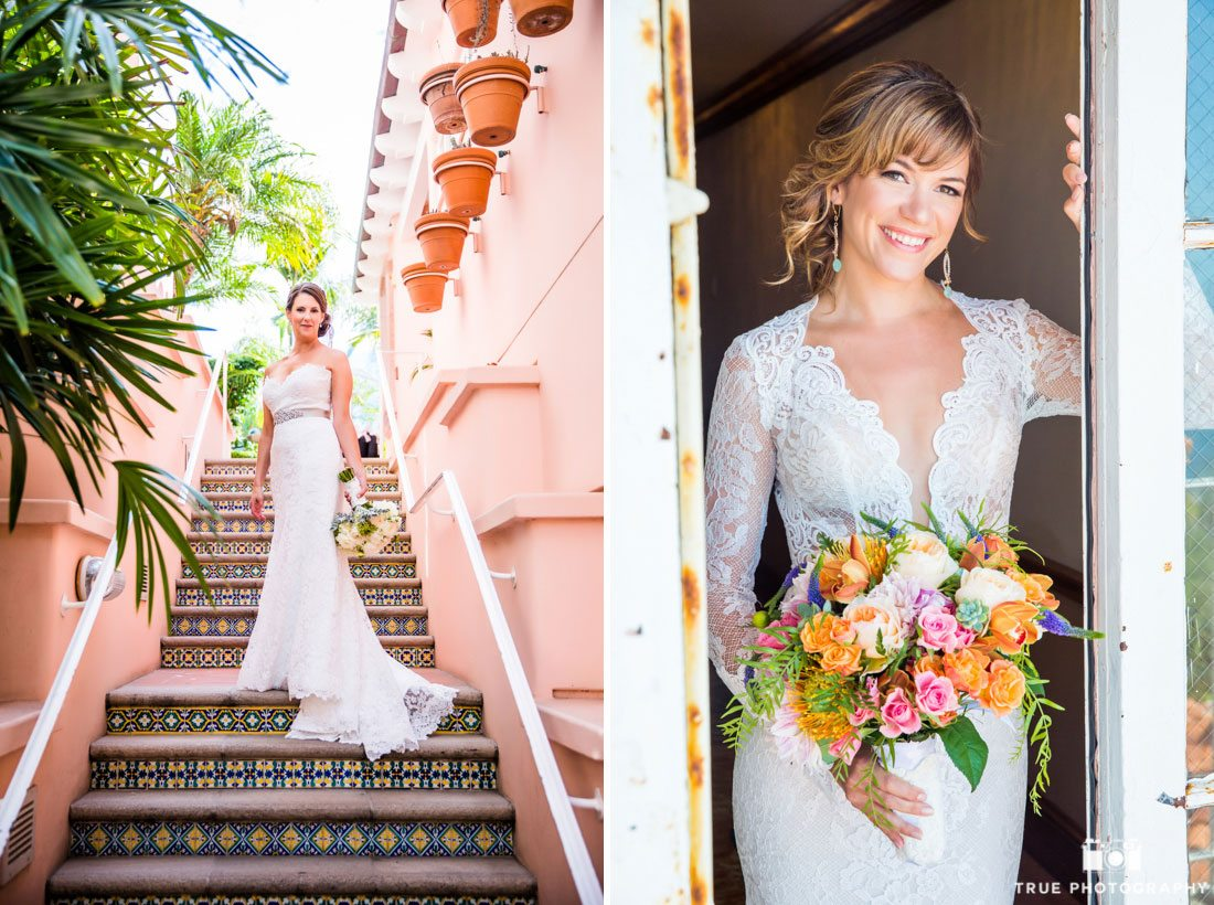Beautiful Brides in at La Valencia