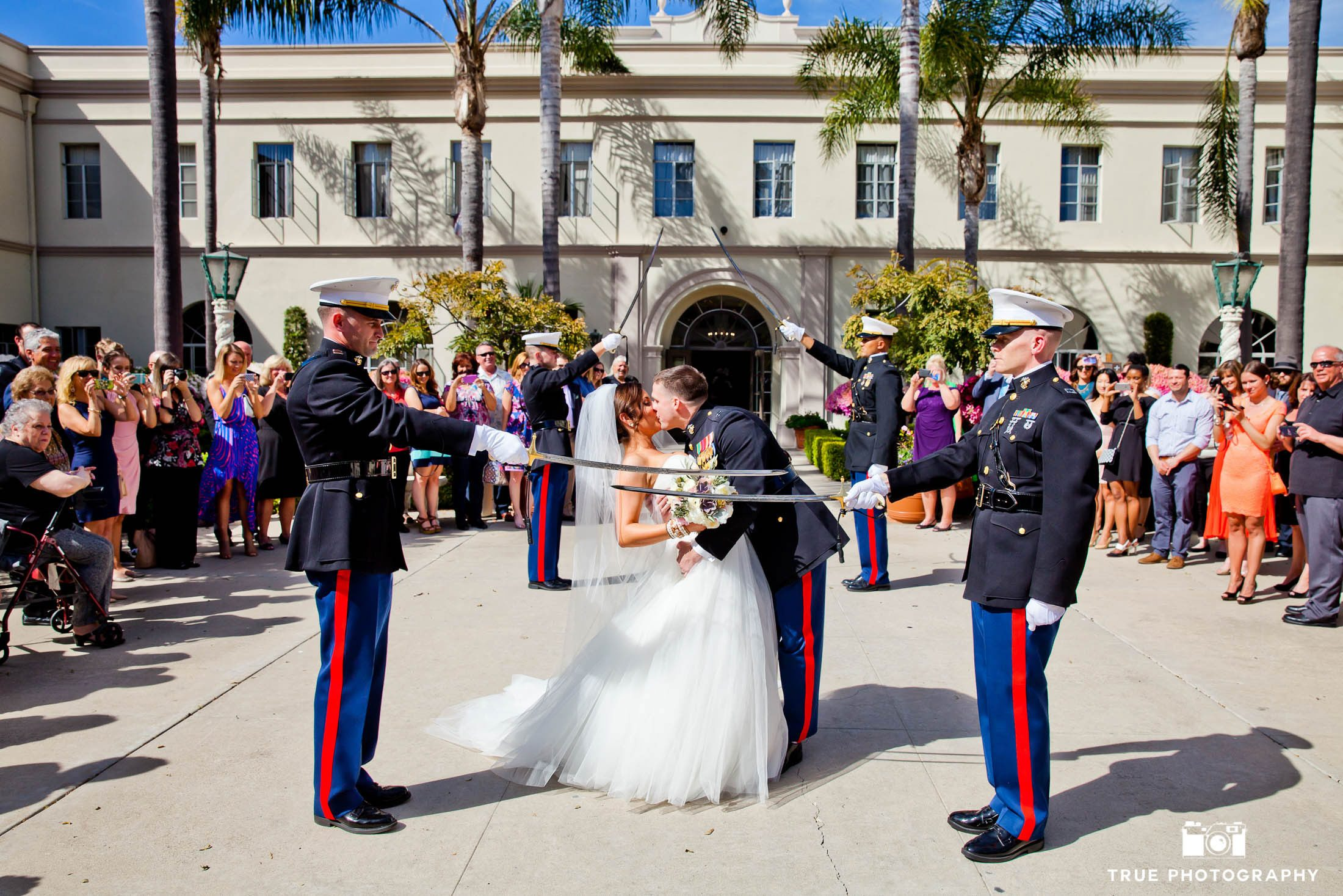 Upholding Military traditions a Founders Chapel USD
