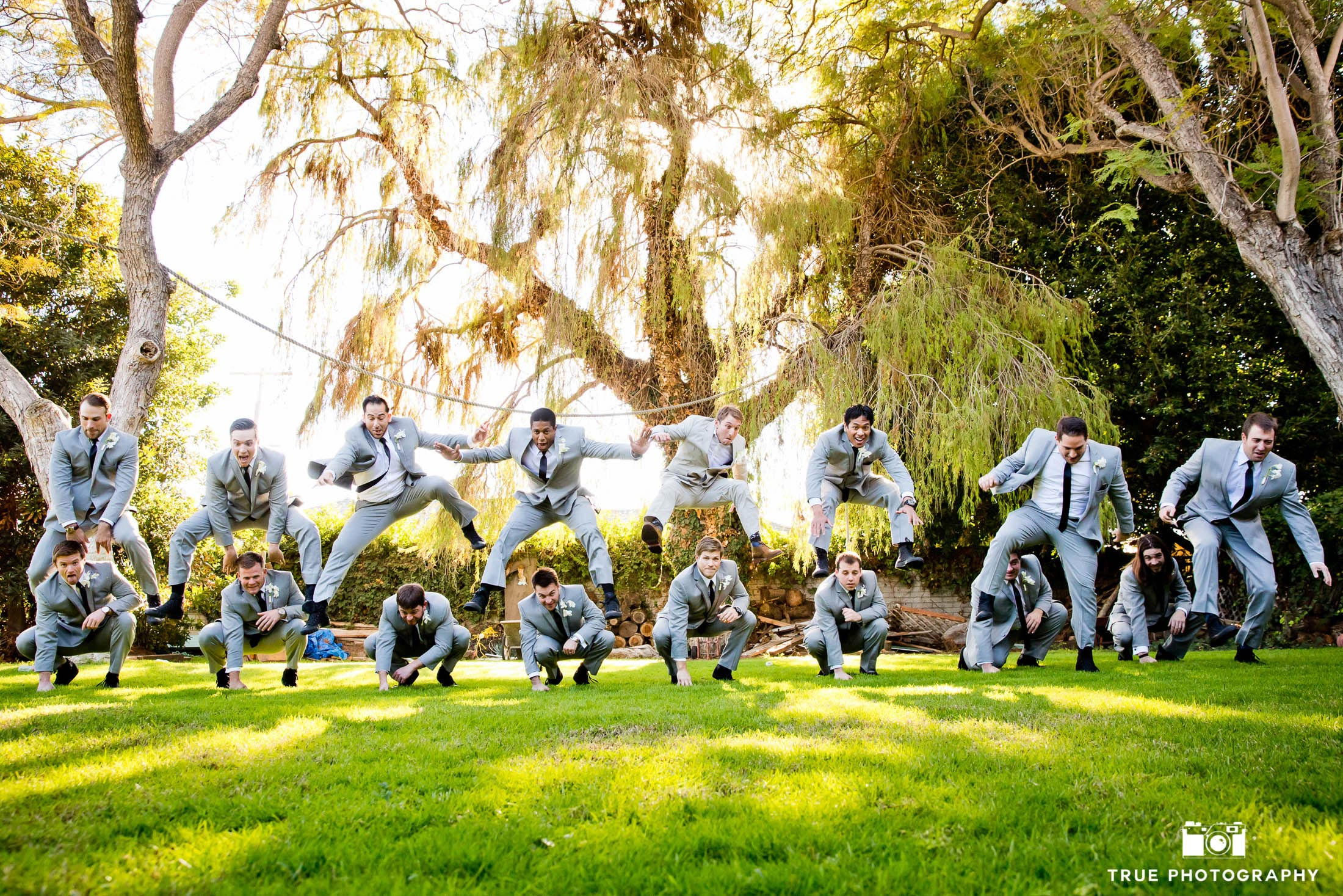 Coronado Island Groom and groomsmen at Grand Historical Mansion