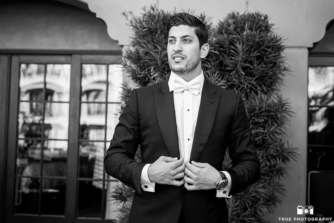 Groom Style and fashion at the Fairmont Grand Del Mar