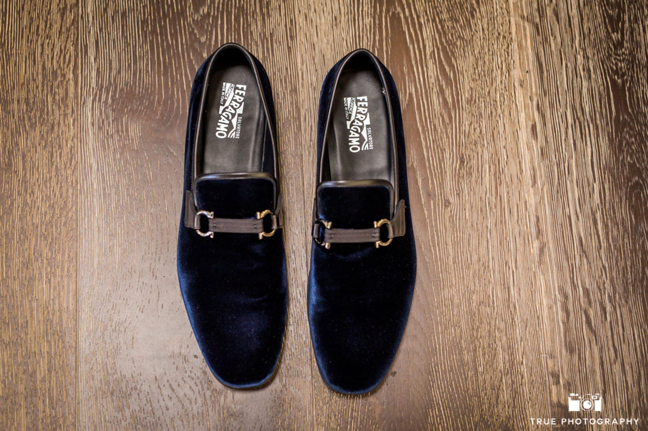 Salvatore Ferragamo Groom Shoes Detail Photograph