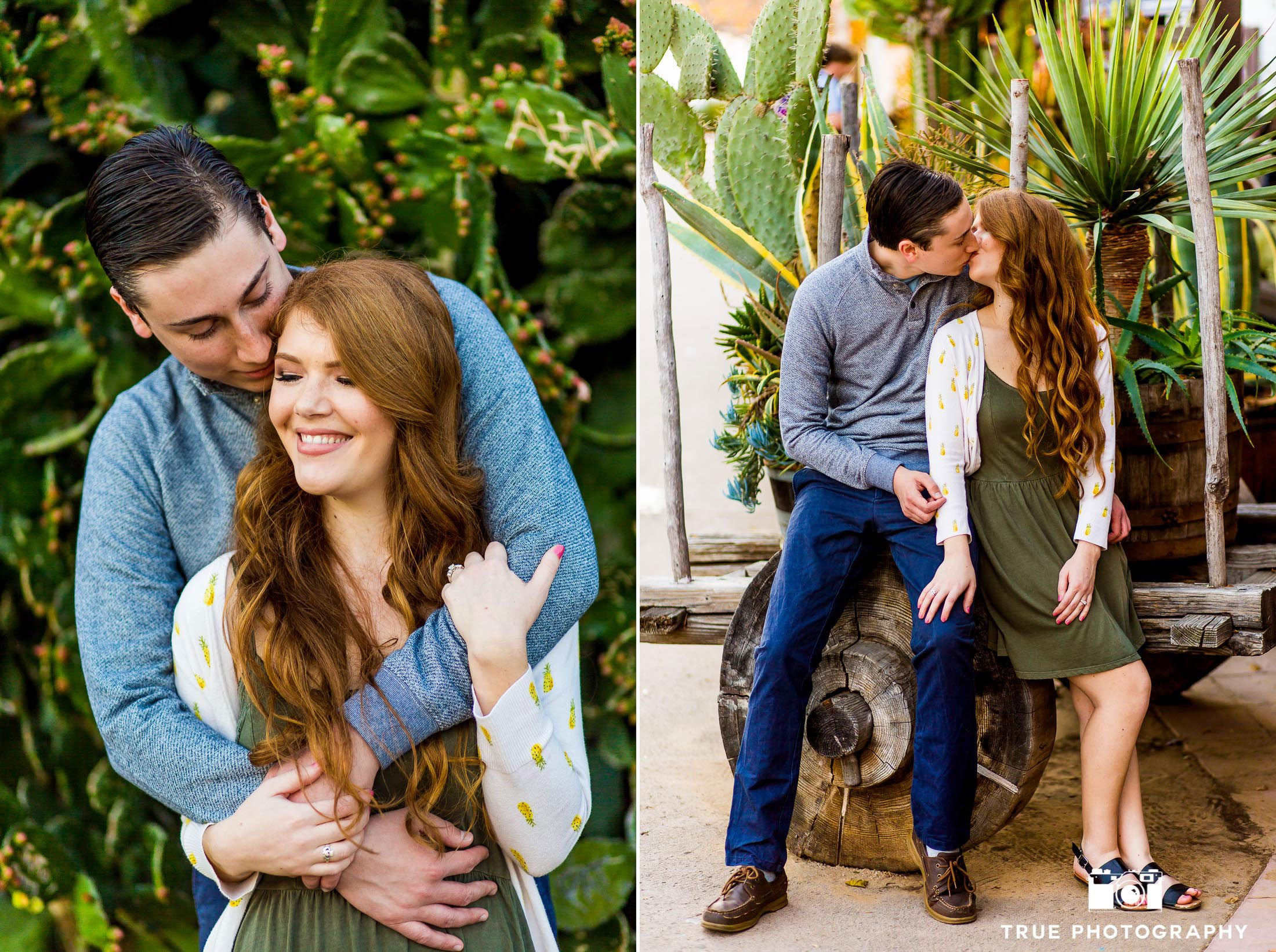 outdoor nature old town san diego engagement shoot photo