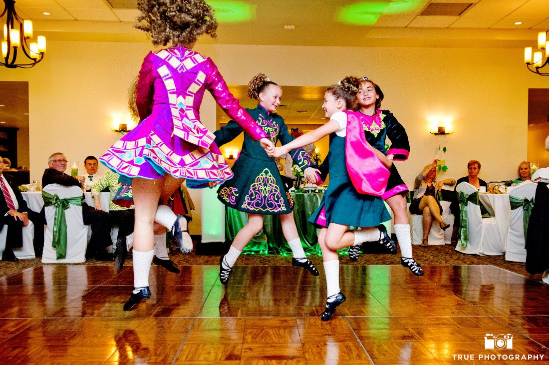 Irish Dancers at San Diego Wedding