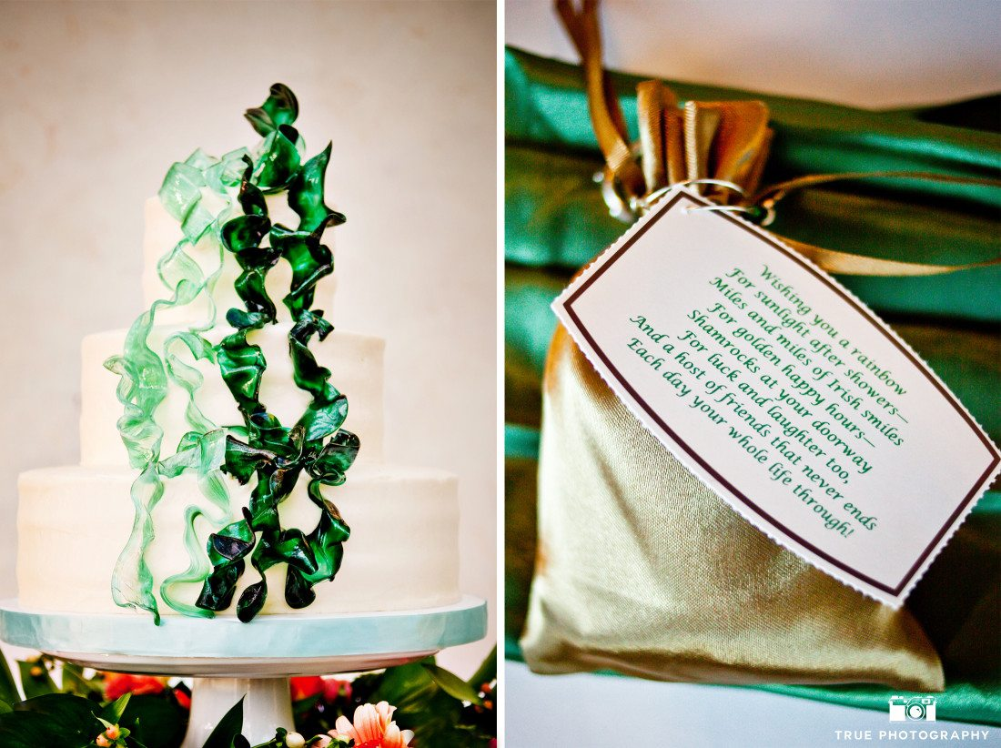 Green Sugar Ribbon Cake by Sweet Cheeks Baking Co
