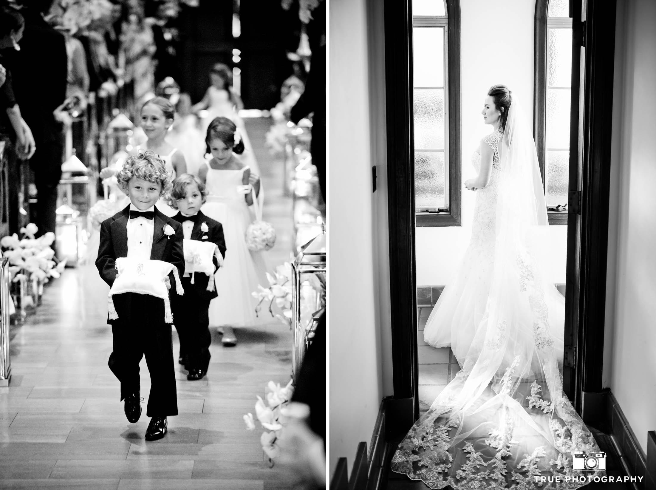 Couples takes advantage having two photographers at their wedding
