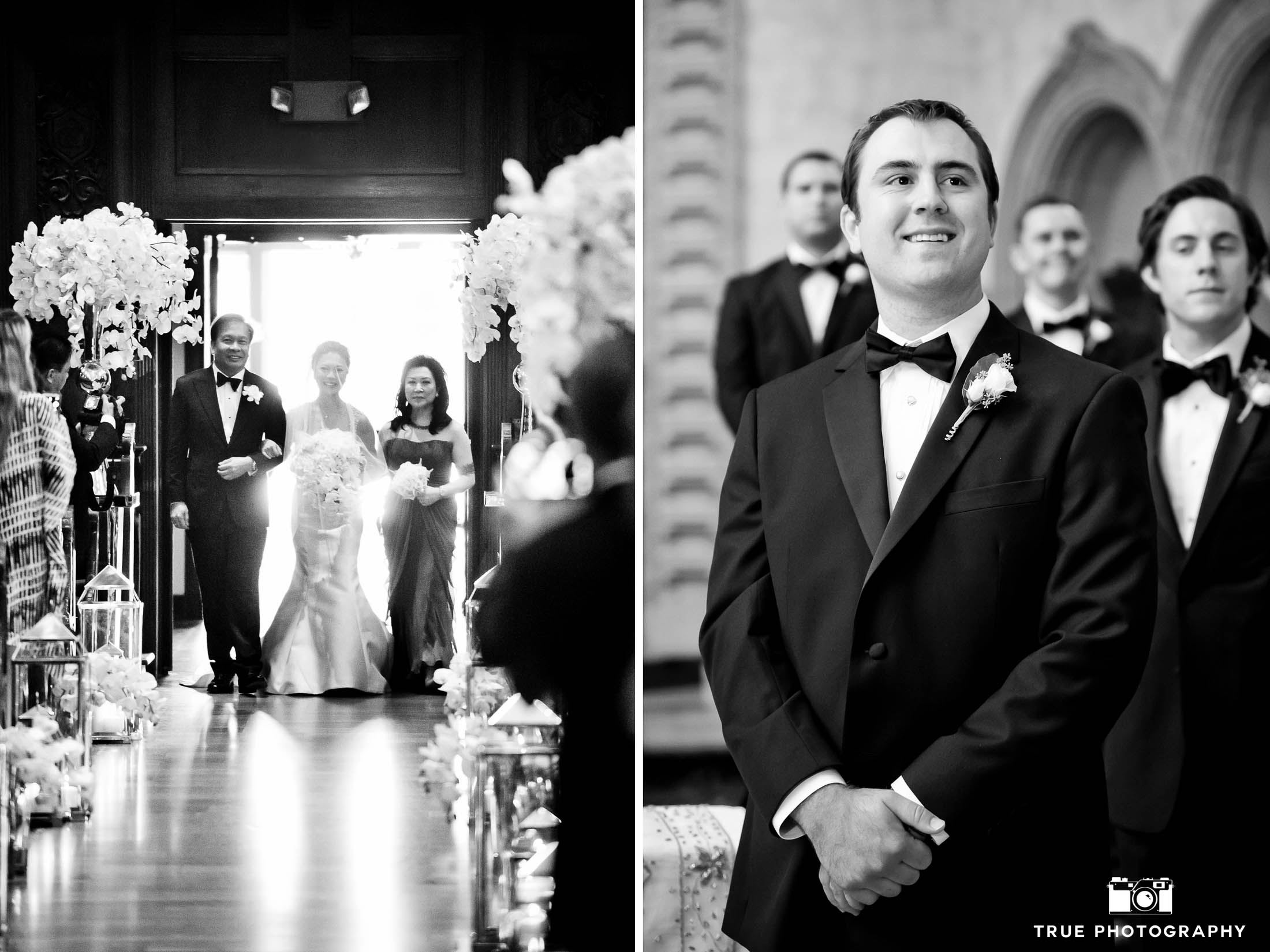 Couples takes advantage having two photographers at their wedding