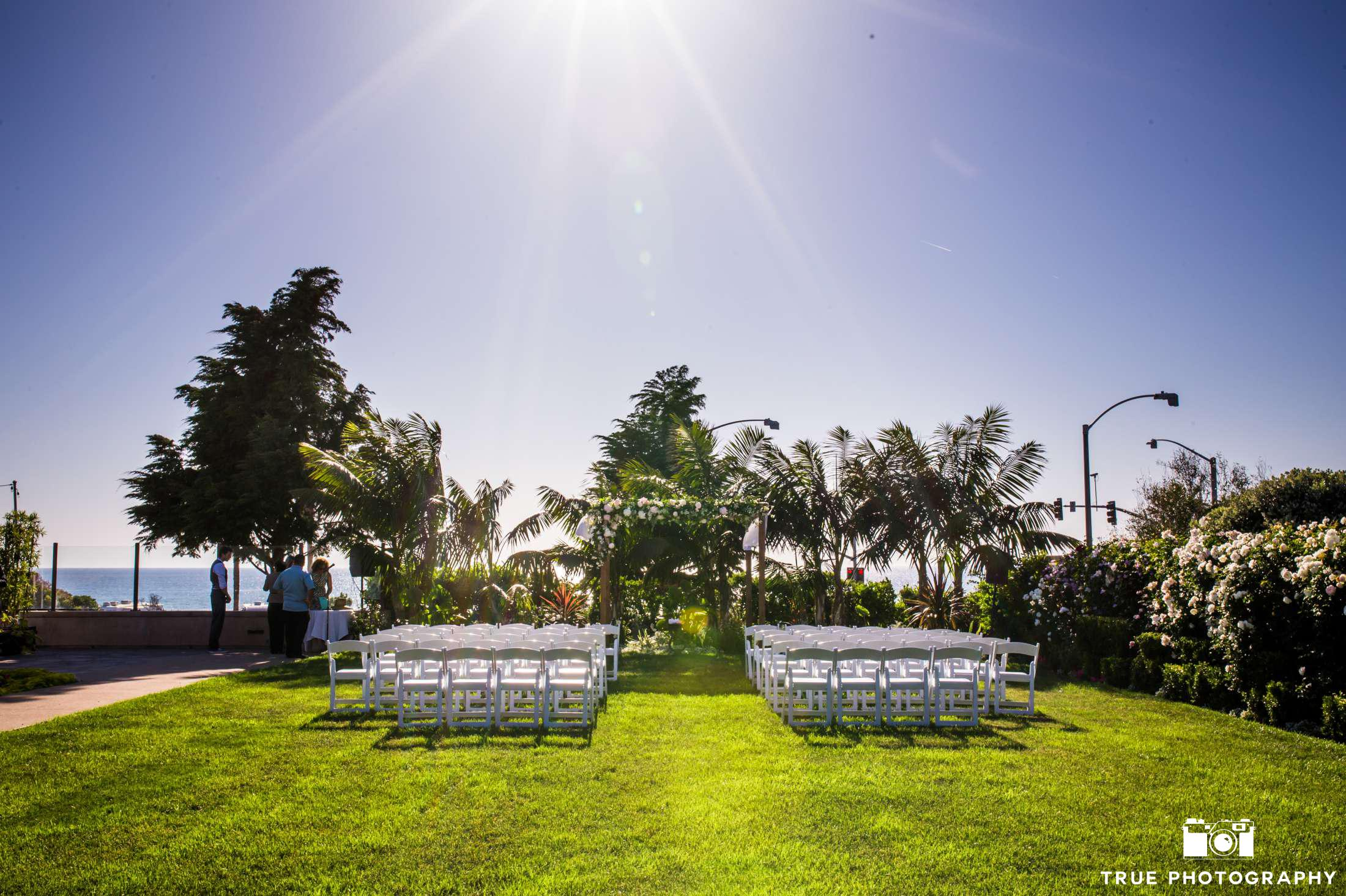 Carlsbad Beach Resort Cape Rey Carlsbad a Hilton Resort wedding ceremony venue