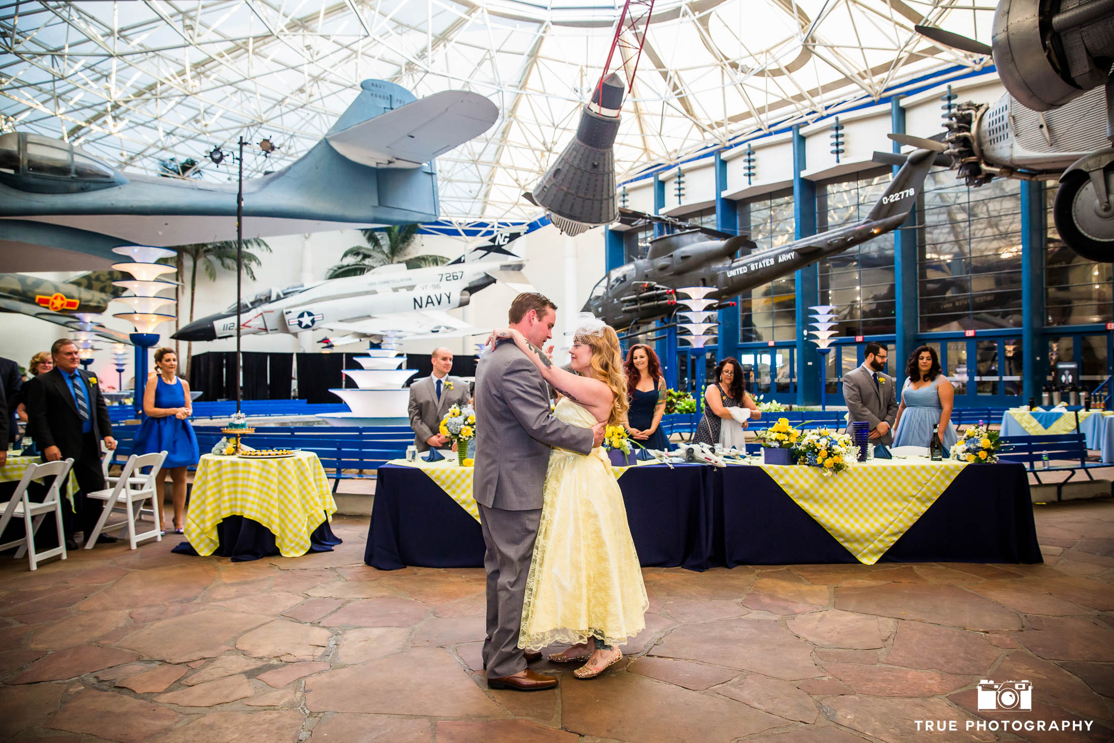 Bride and Groom's first dance as married couple