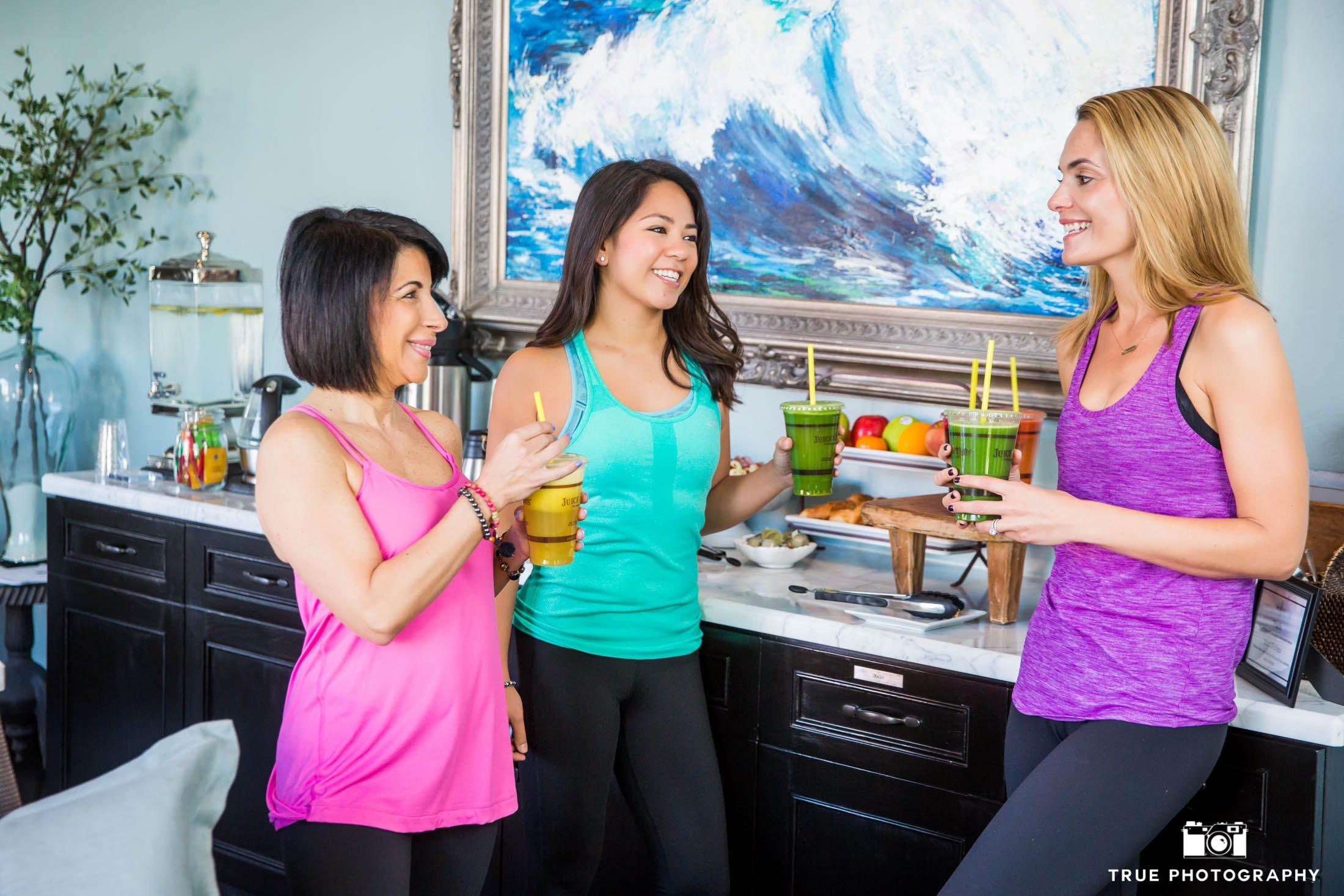Healthy lifestyle photo shoot