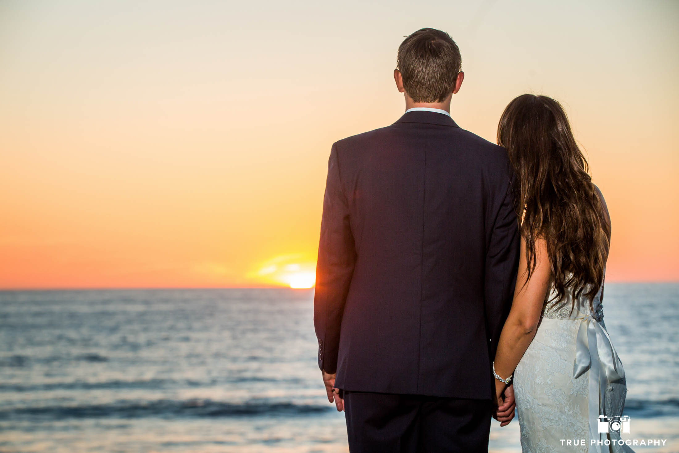 Pacific Ocean Wedding Sunset
