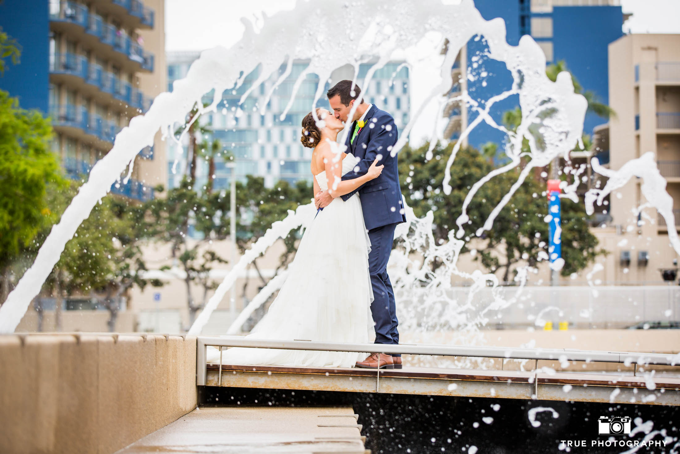 Spectacular wedding photo