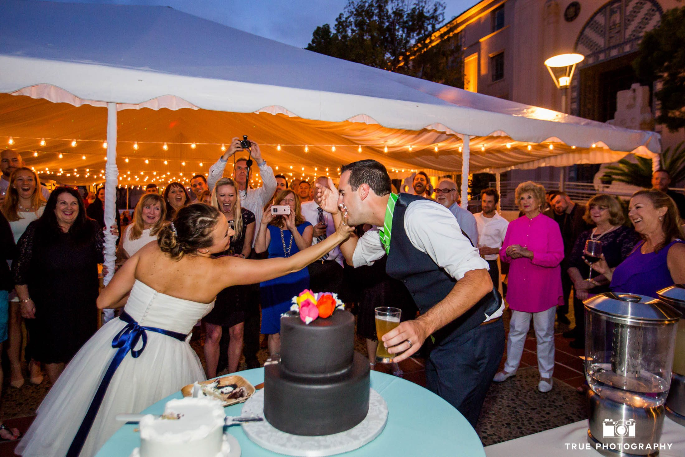 Smashing Wedding Cake