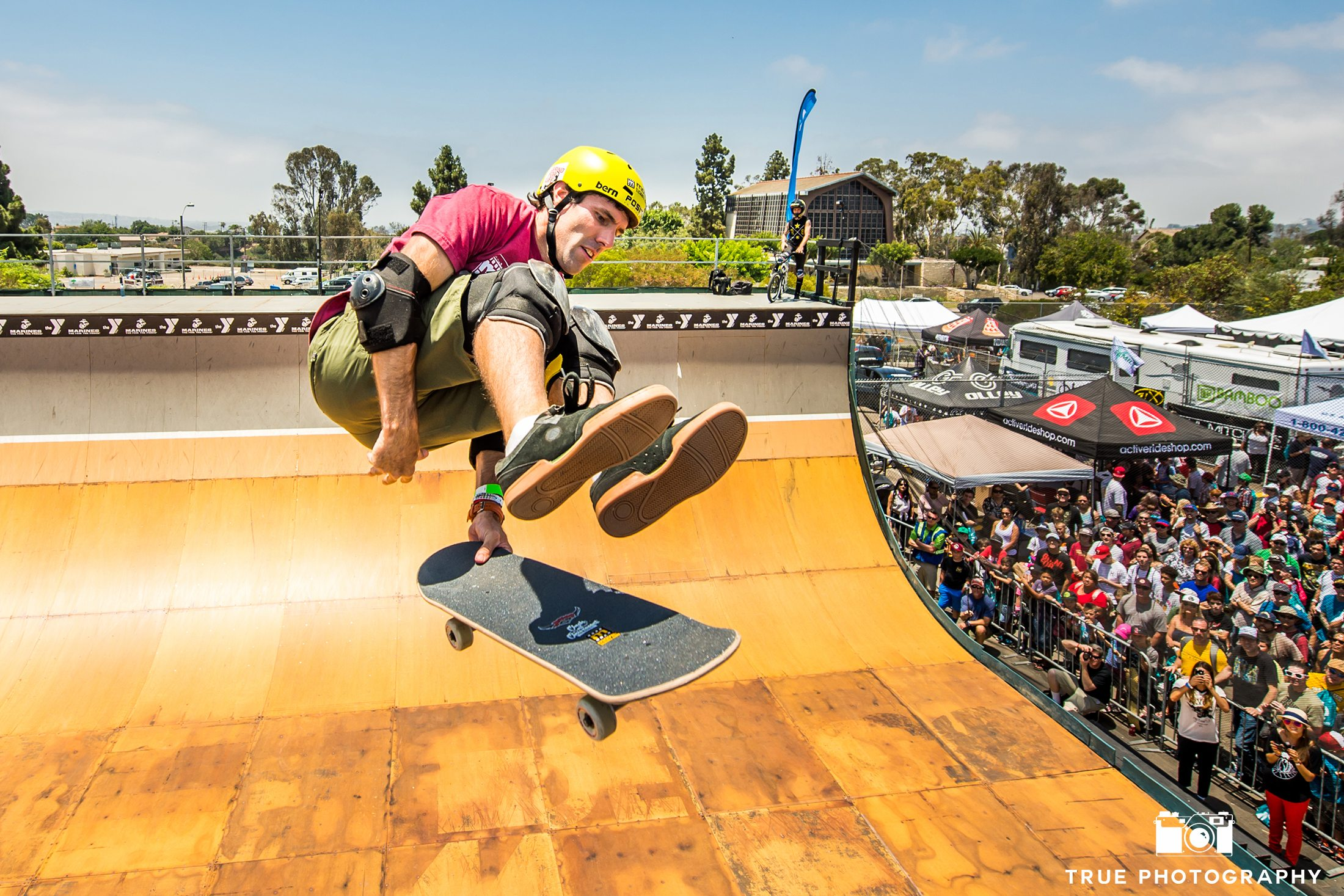 Skateboarding Andy Macdonald Half Pipe San Diego Clash at Clairemont