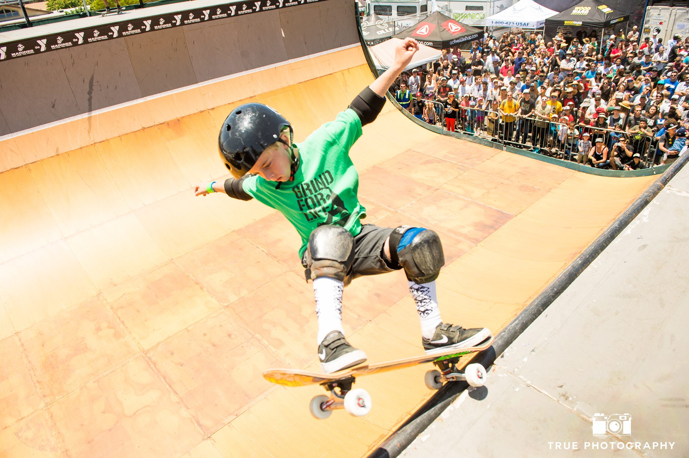 Tony Hawk Skateboarding Half Pipe San Diego 9 Year Old Shredder