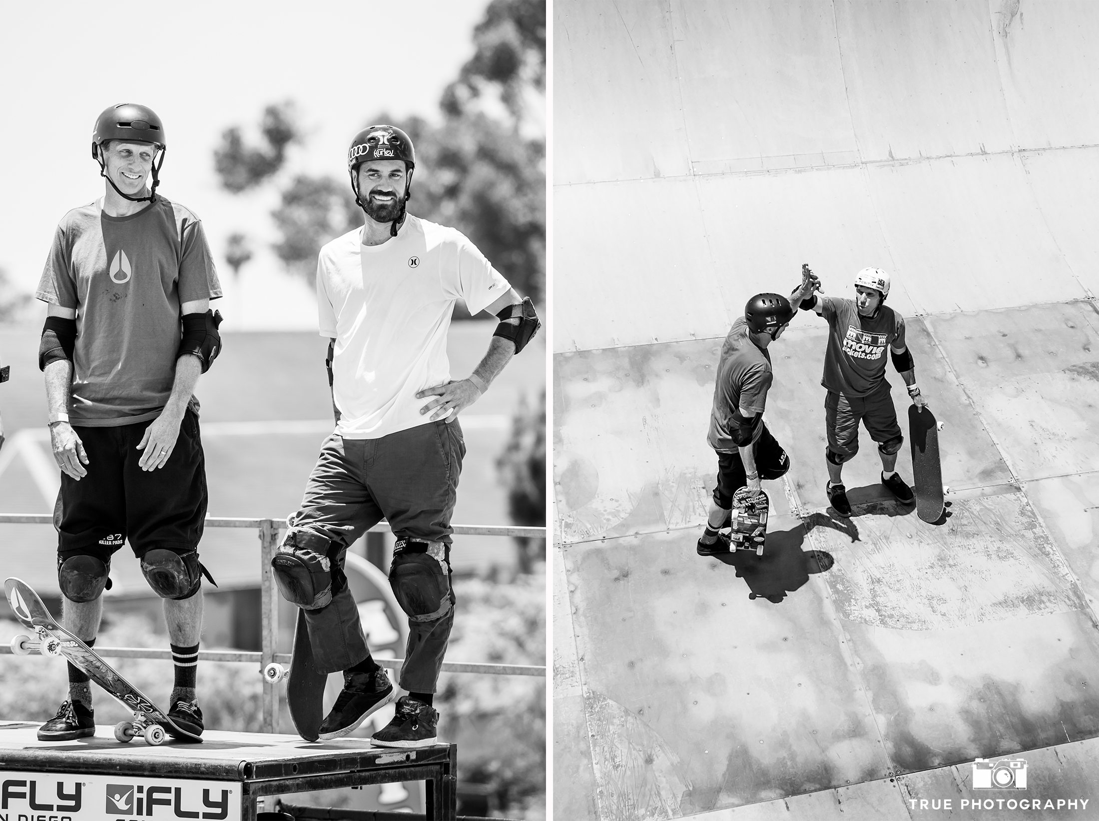 Tony Hawk Bob Burnquist Skateboarding Half Pipe San Diego Clash at Clairemont
