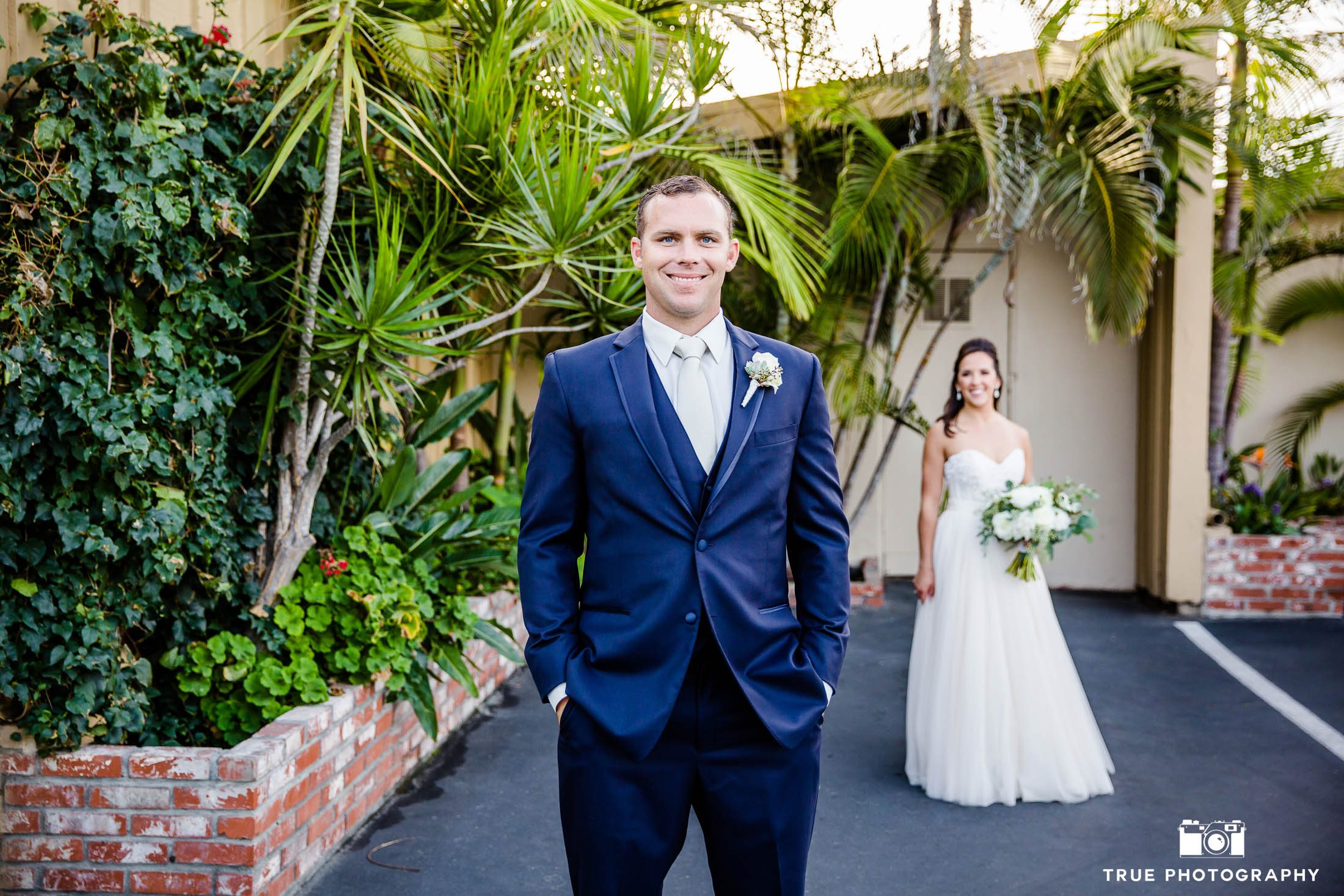Groom Reacts to Bride's First Look