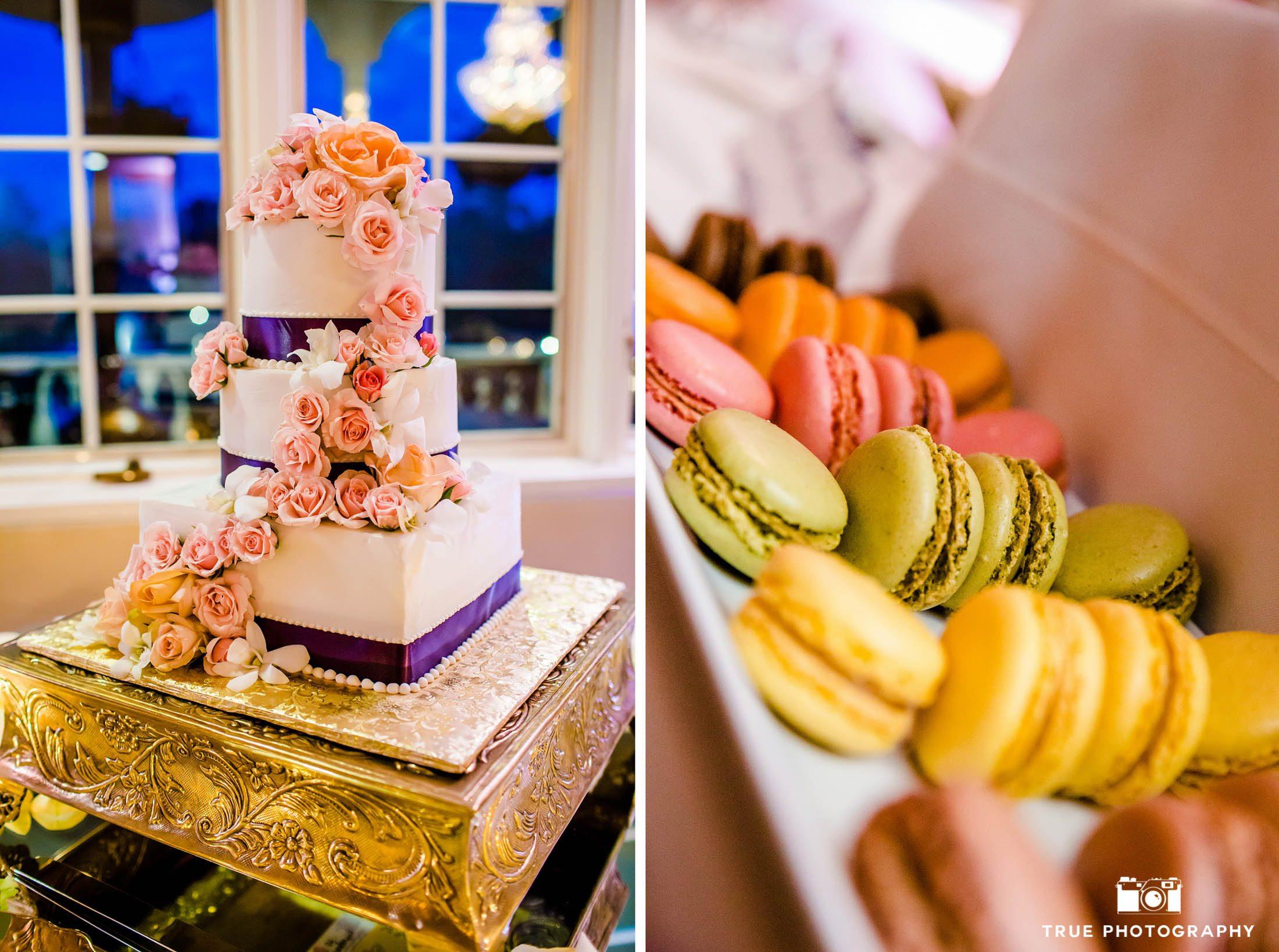Macarons for the Wedding Dessert Table
