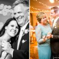Bride and Groom dance with parents during parent dance at reception