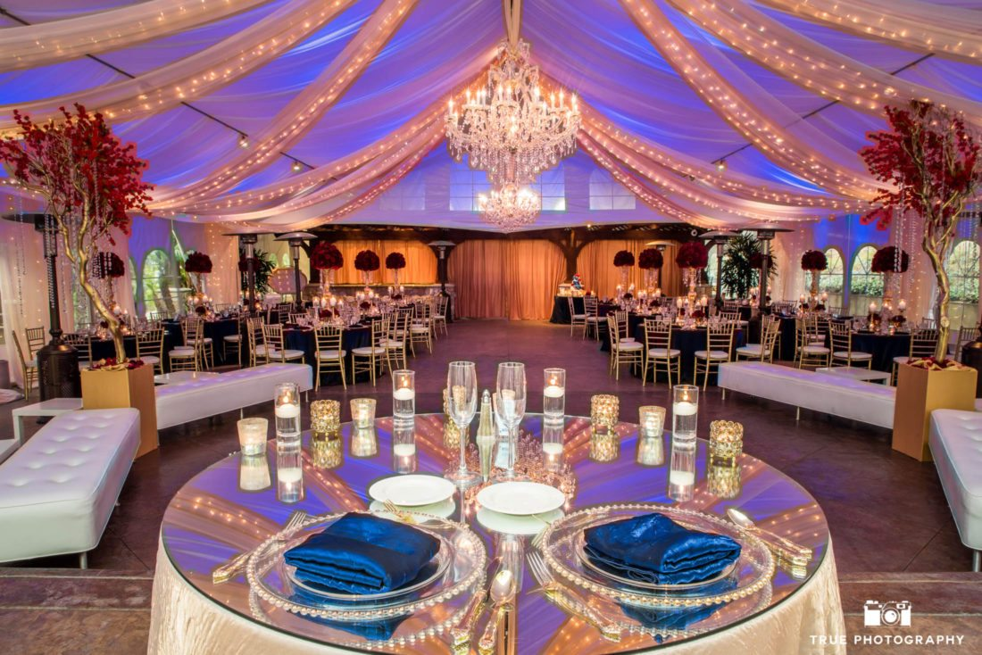 Reception tent at Pala Mesa Resort & Undercover Receptions | Tented Wedding Venues - | San Diego ...