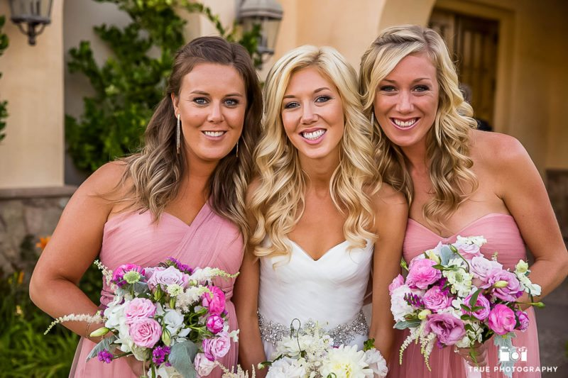 A bride's sisters play her bridesmaids for a day