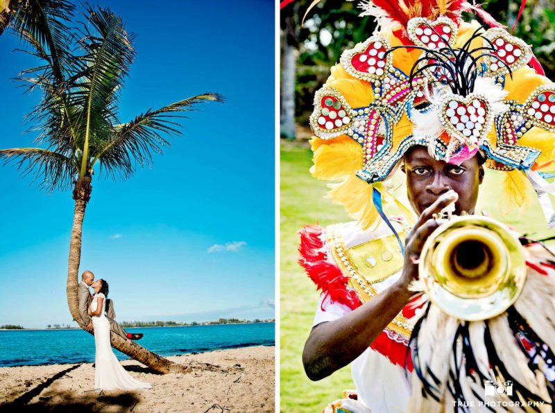 Bahamian festival musician dancer.