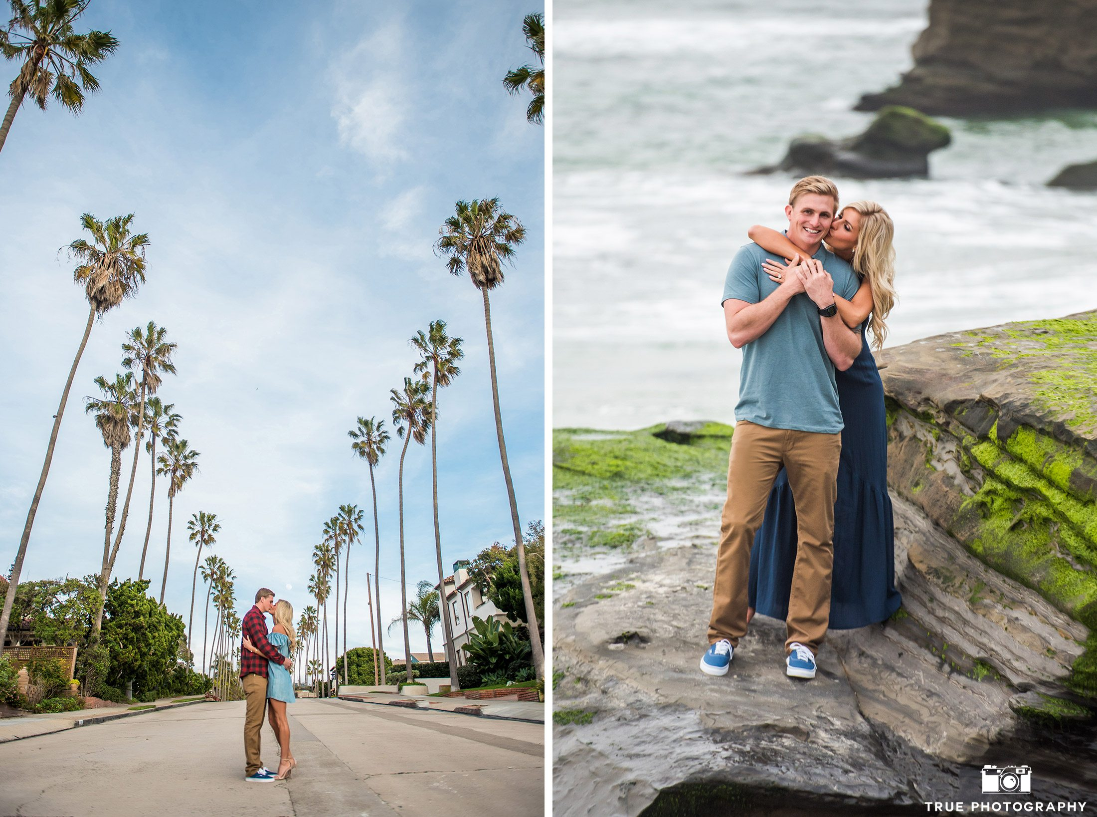 True Photography engagement locations