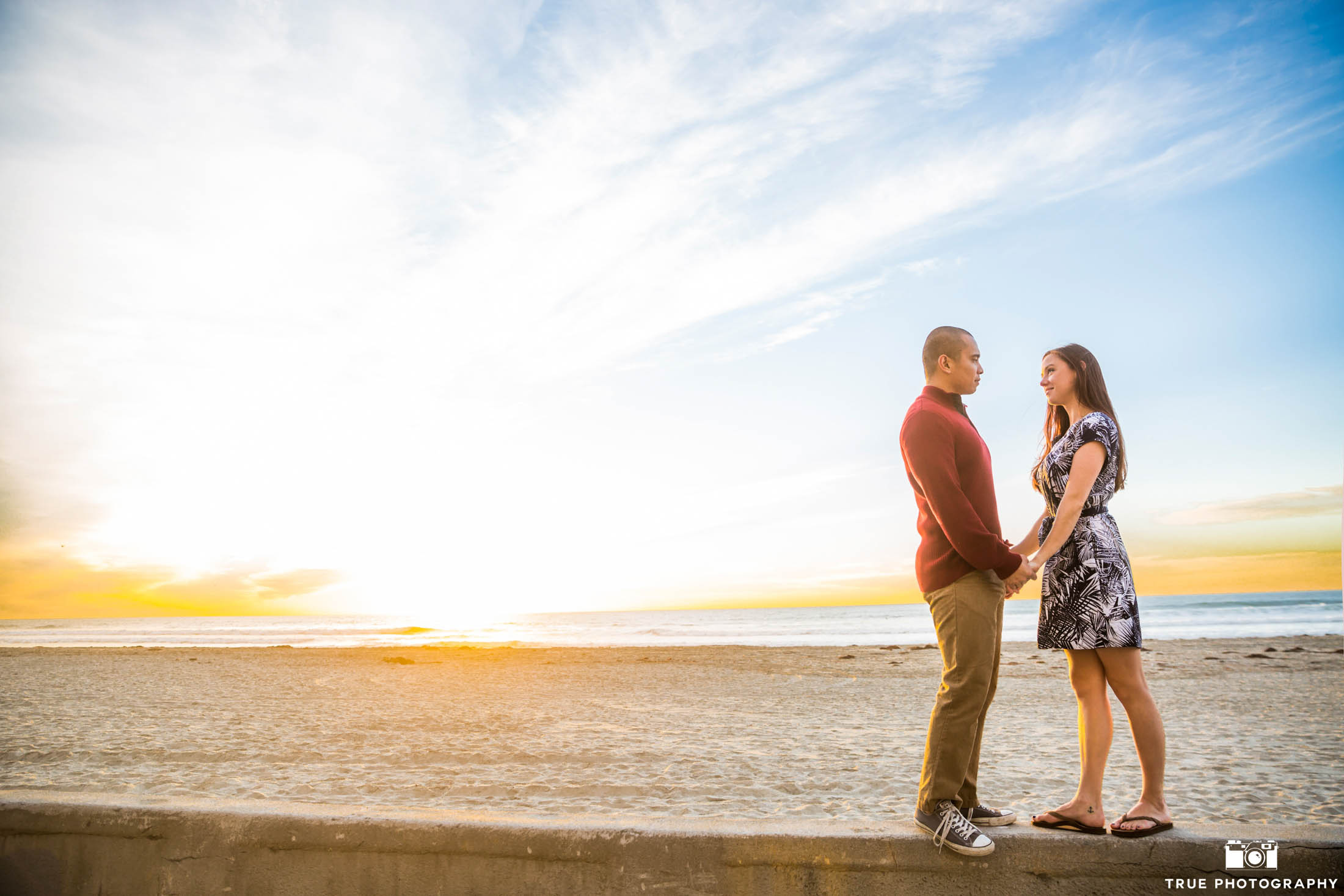 Beach engagement locations in San Diego