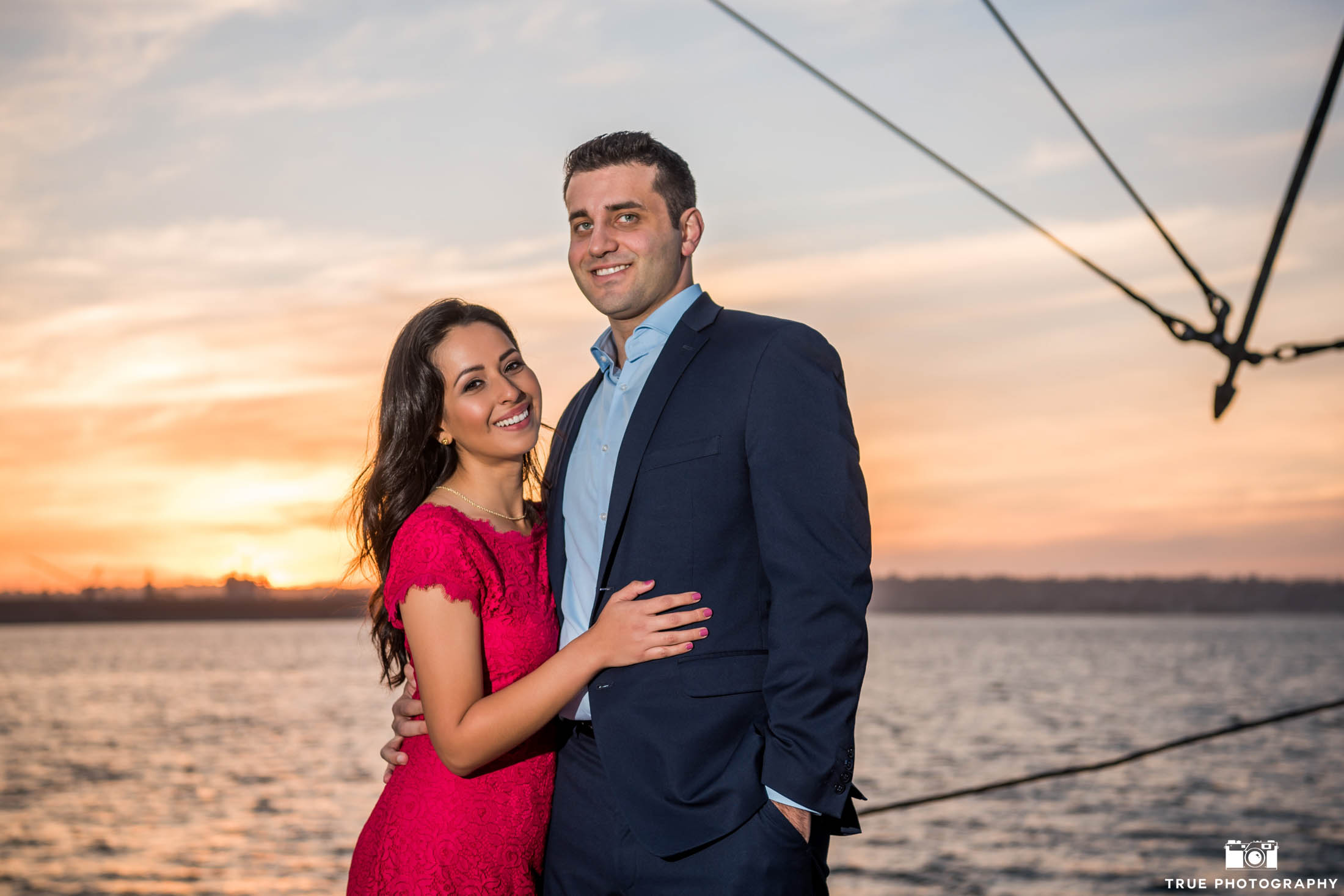 San Diego bay engagement