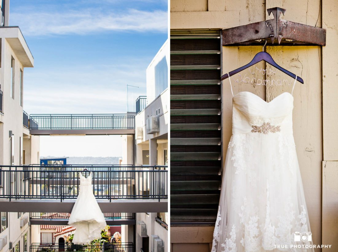creative wedding dress photos