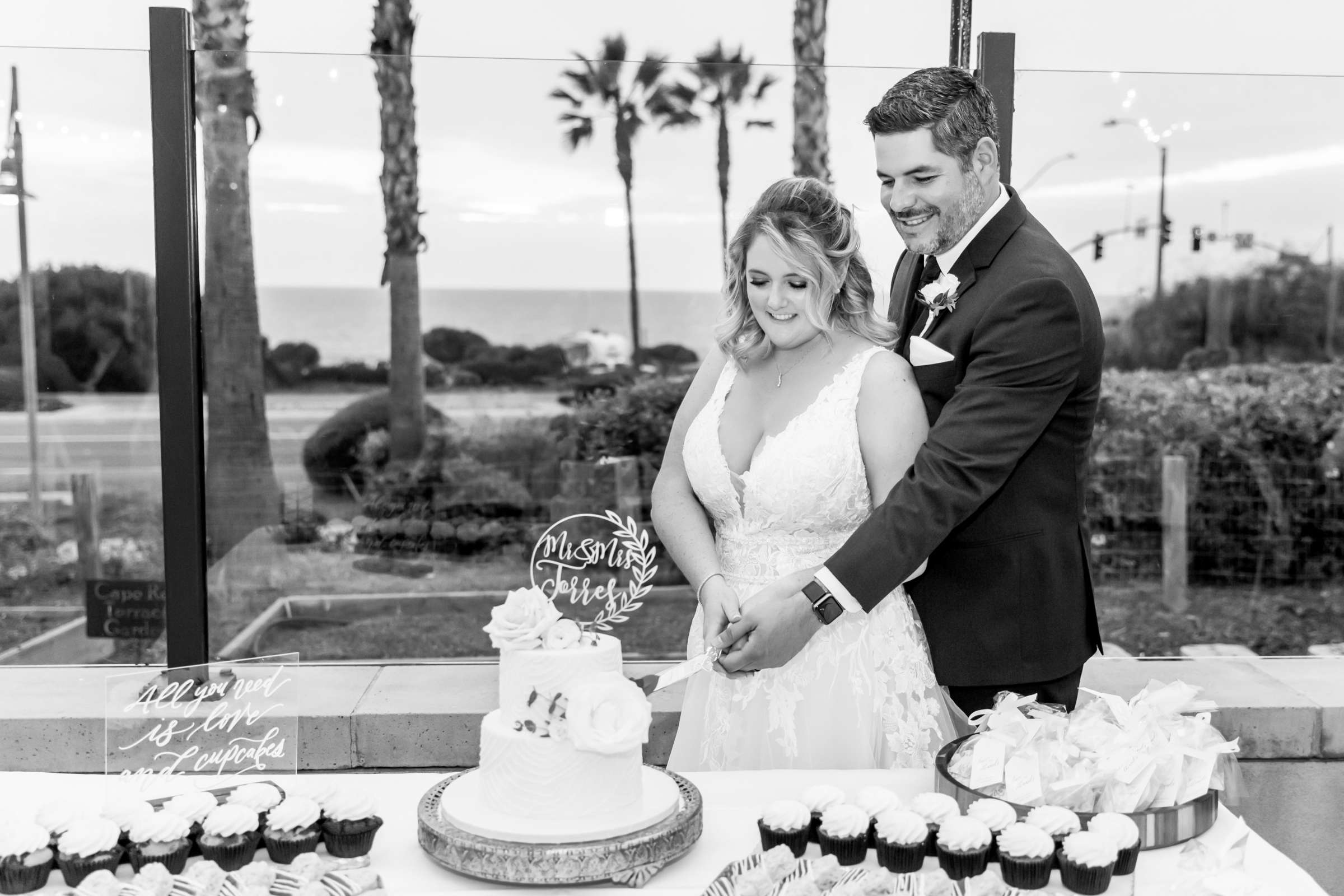 Cape Rey Carlsbad, A Hilton Resort Wedding, Michelle and Justin Wedding Photo #83 by True Photography