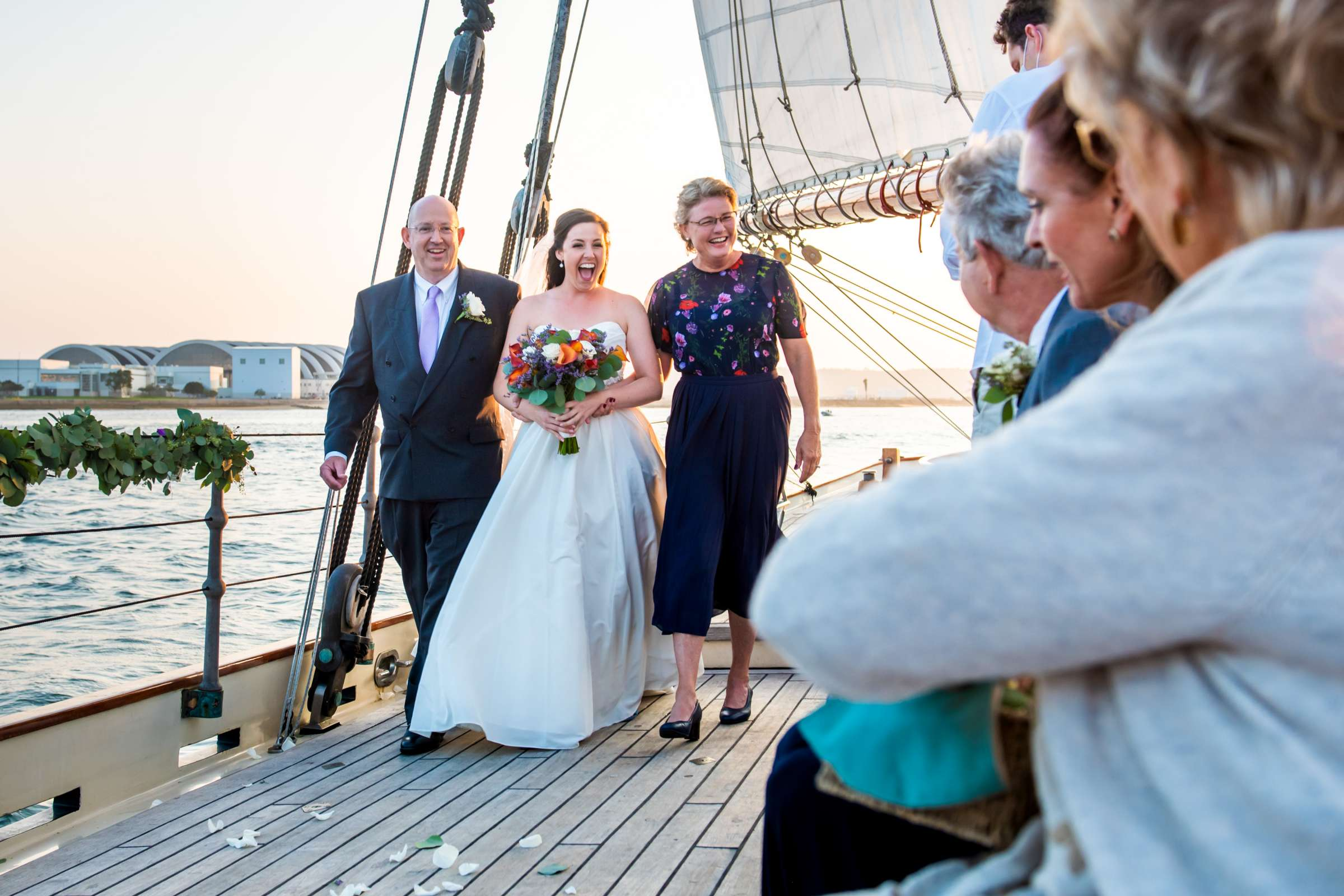 The America - Next Level Sailing Wedding, Tracy and Jarred Wedding Photo #13 by True Photography