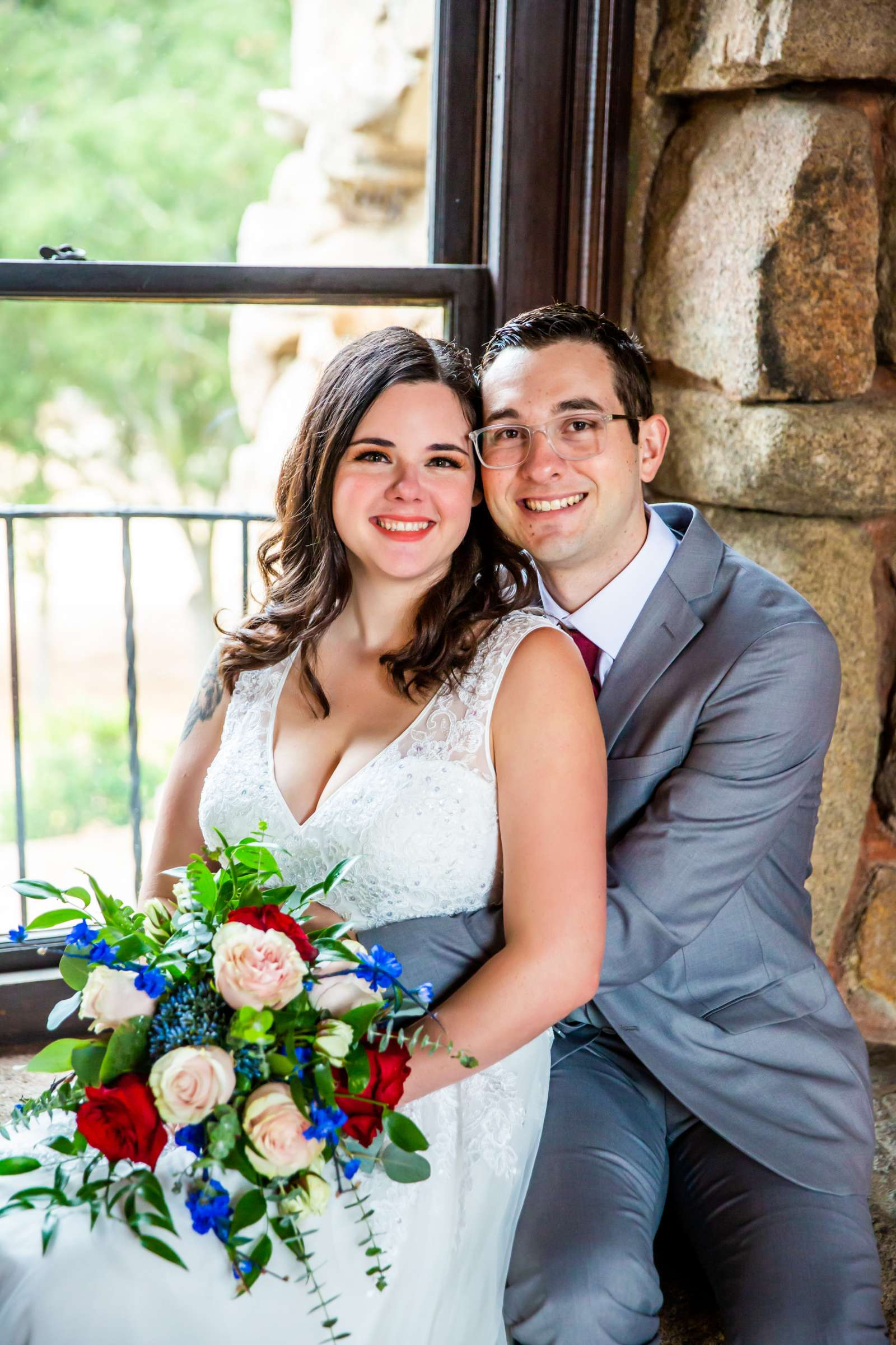 Mt Woodson Castle Wedding, Valerie and Ian Wedding Photo #31 by True Photography