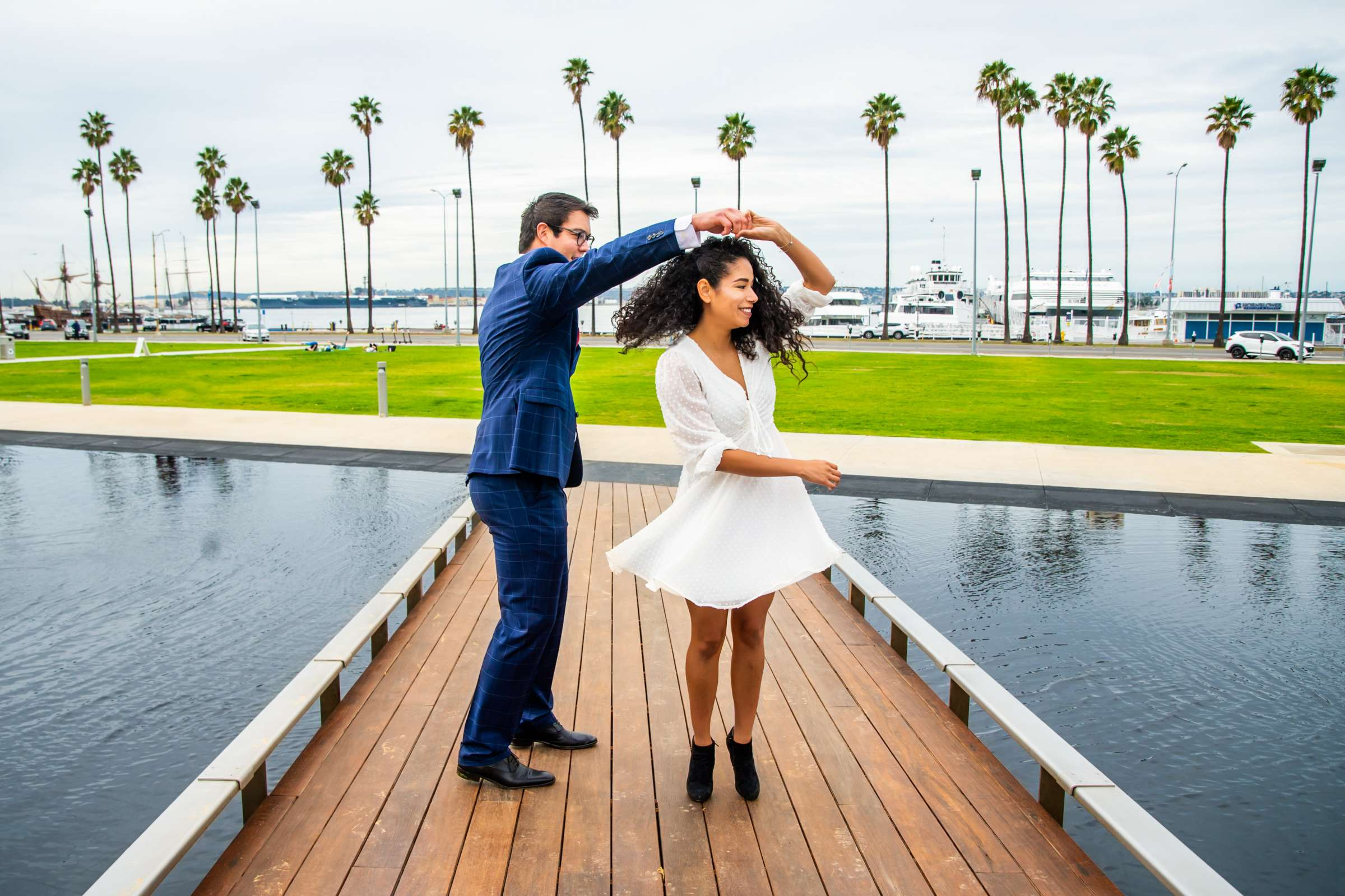San Diego Courthouse Event, Gabriela and Peter Wedding Event Photo #622825 by True Photography