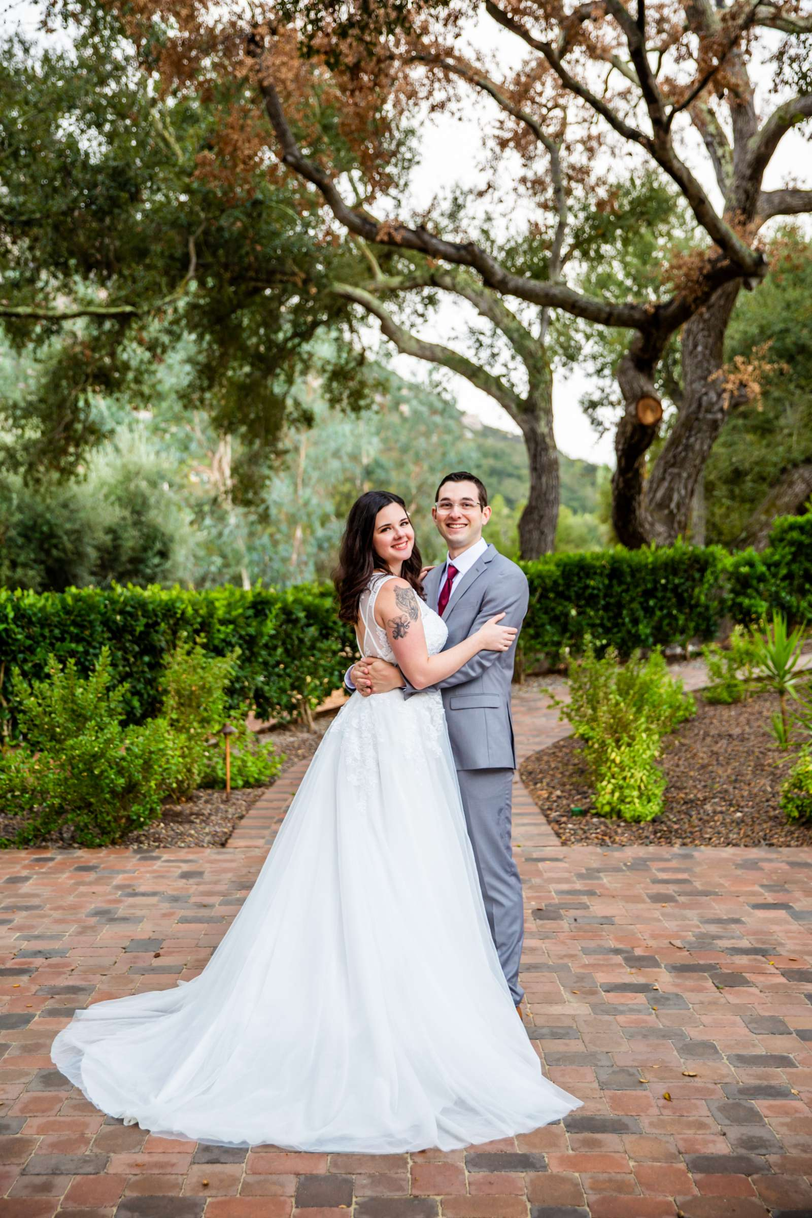 Mt Woodson Castle Wedding, Valerie and Ian Wedding Photo #2 by True Photography
