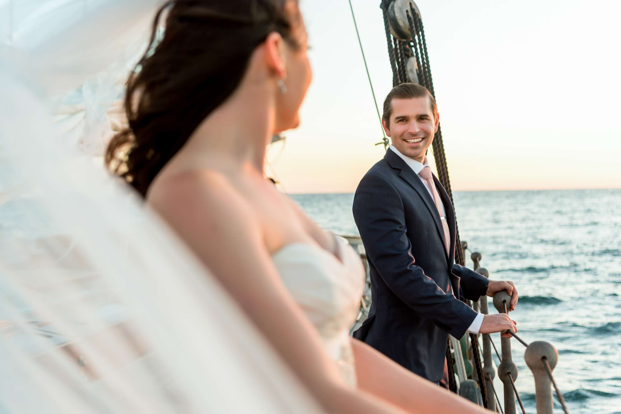 The America - Next Level Sailing Wedding, Tracy and Jarred Wedding Photo #26 by True Photography