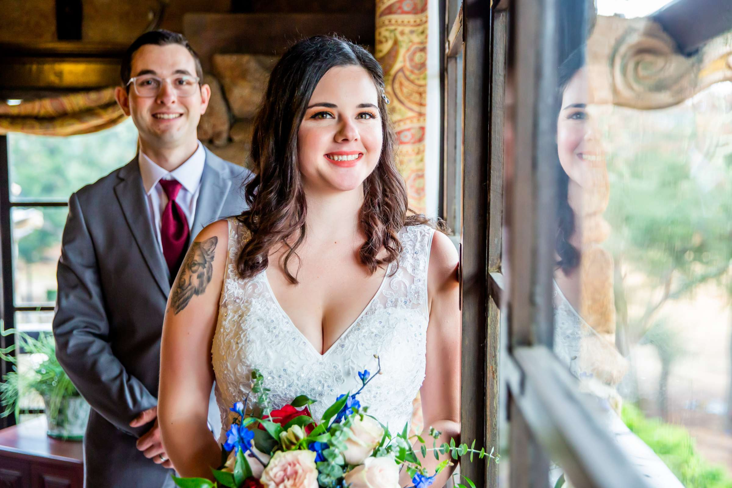 Mt Woodson Castle Wedding, Valerie and Ian Wedding Photo #23 by True Photography