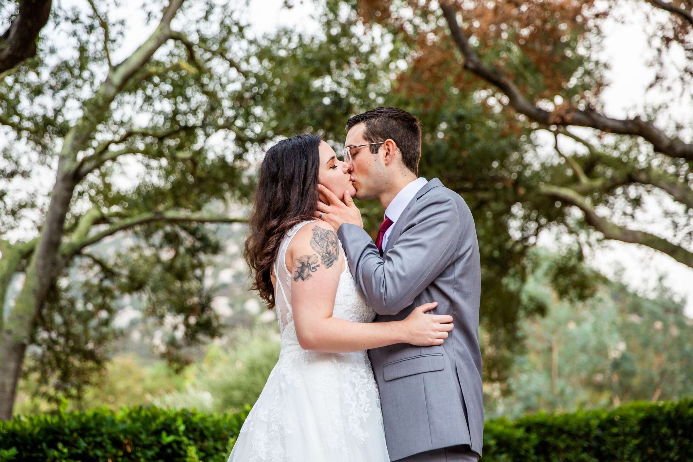 Mt Woodson Castle Wedding, Valerie and Ian Wedding Photo #1 by True Photography