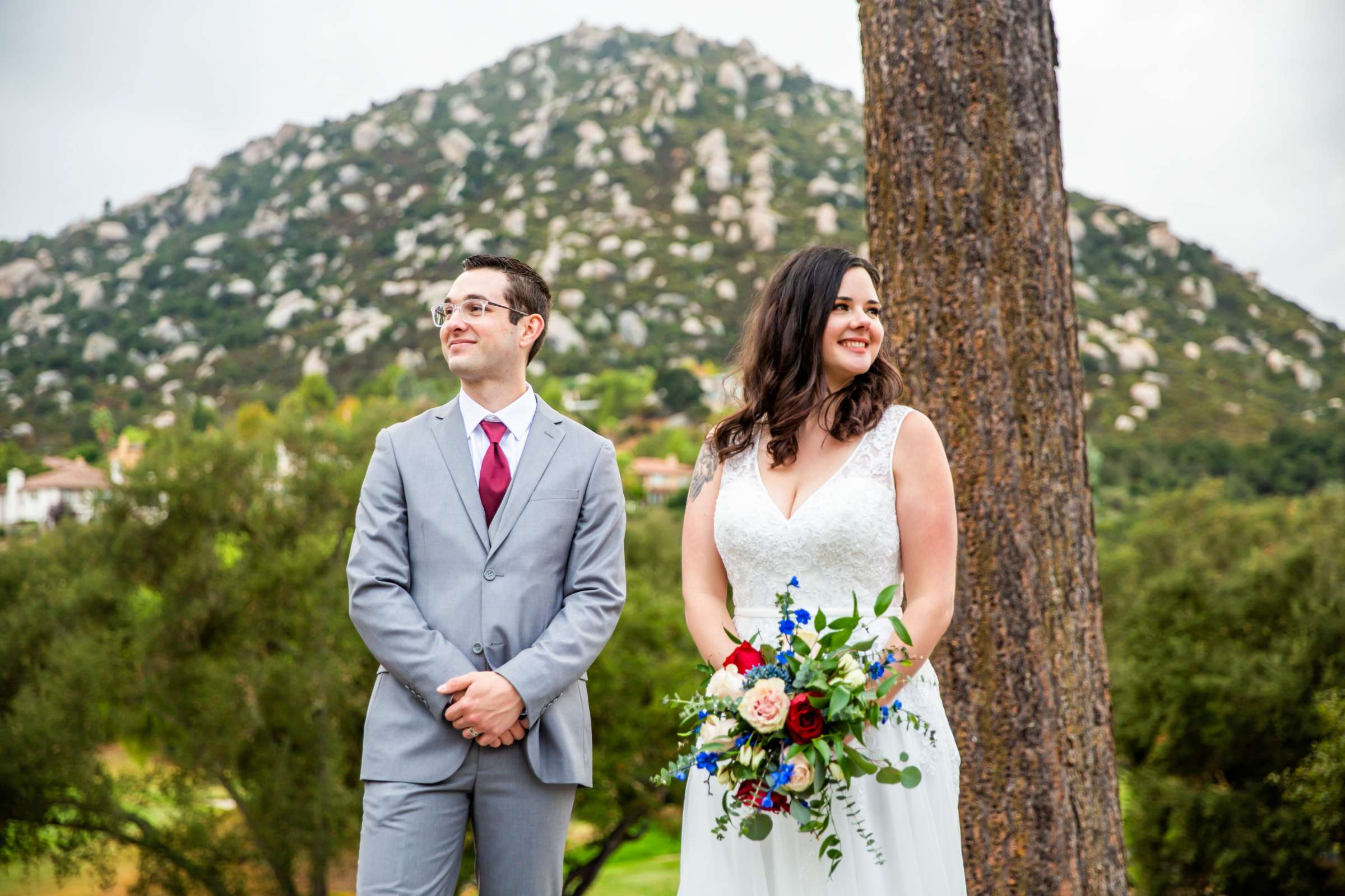 Mt Woodson Castle Wedding, Valerie and Ian Wedding Photo #30 by True Photography