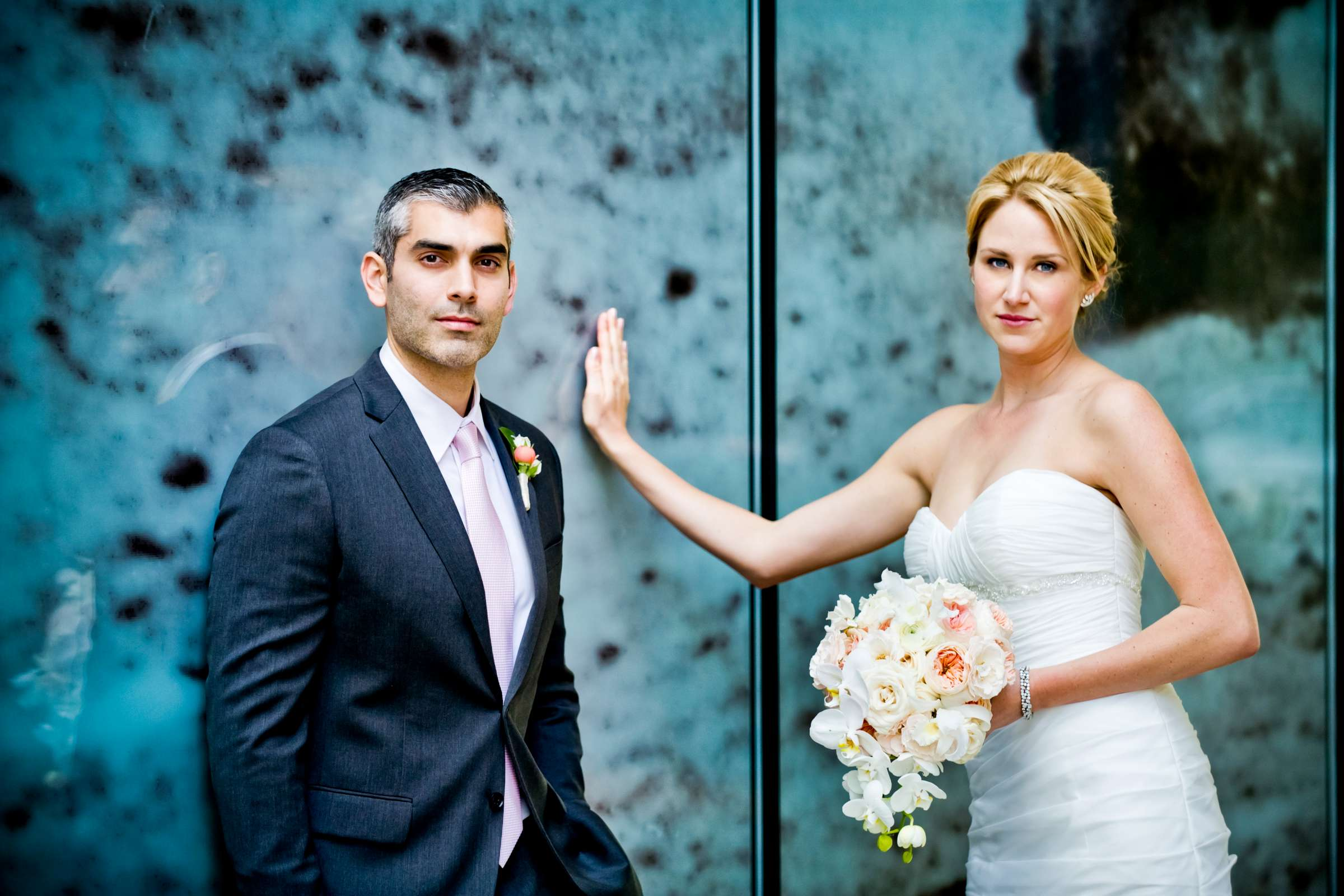 Urban Downtown at Ultimate Skybox Wedding, Chelsea and Frank Wedding Photo #2 by True Photography