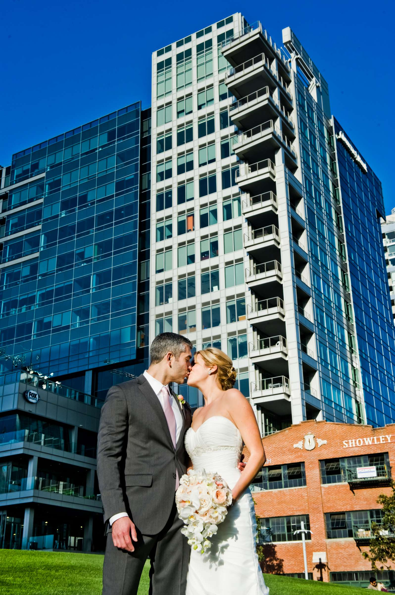 Urban Downtown at Ultimate Skybox Wedding, Chelsea and Frank Wedding Photo #7 by True Photography