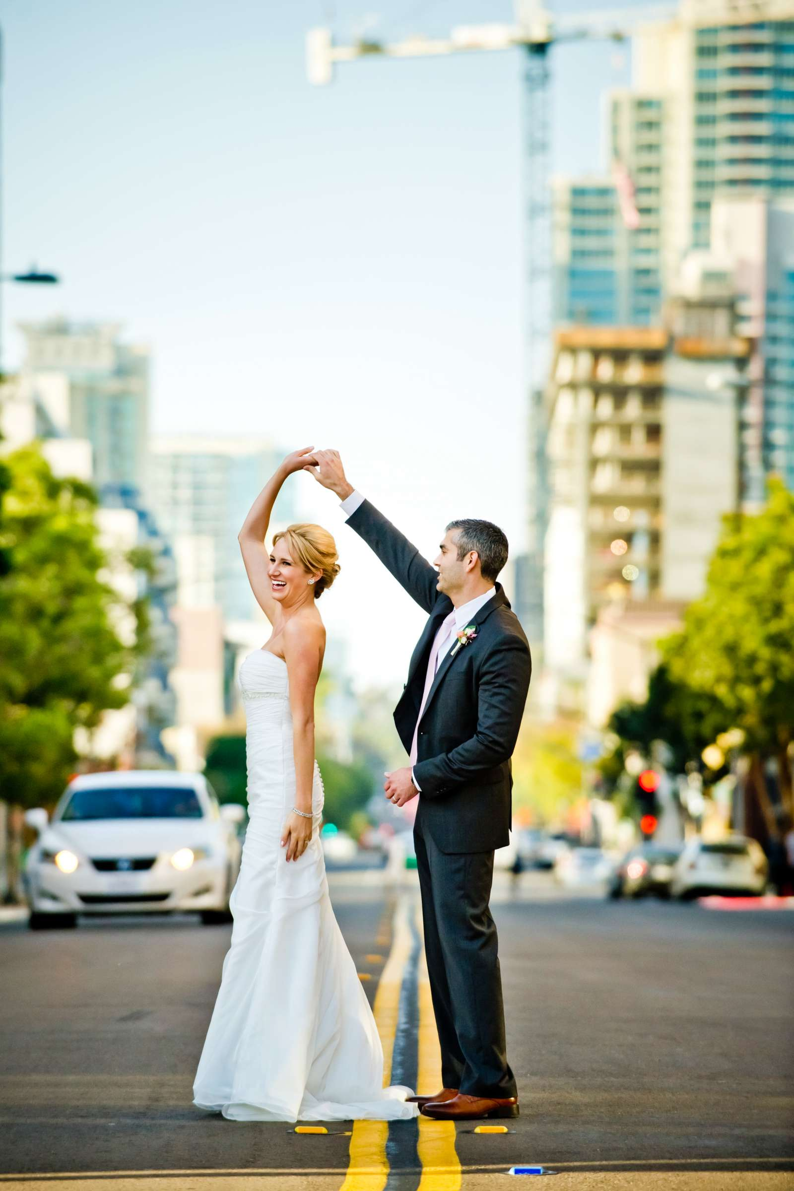 Urban Downtown at Ultimate Skybox Wedding, Chelsea and Frank Wedding Photo #16 by True Photography