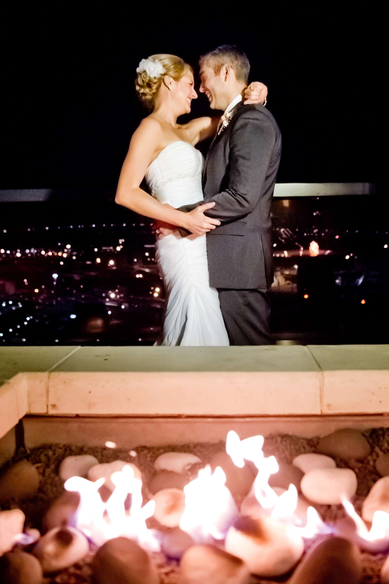 Urban Downtown at Ultimate Skybox Wedding, Chelsea and Frank Wedding Photo #17 by True Photography